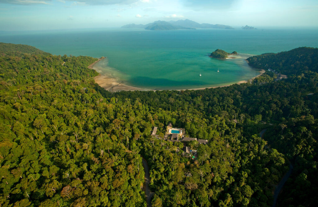 The stunning location of the Datai Langkawi