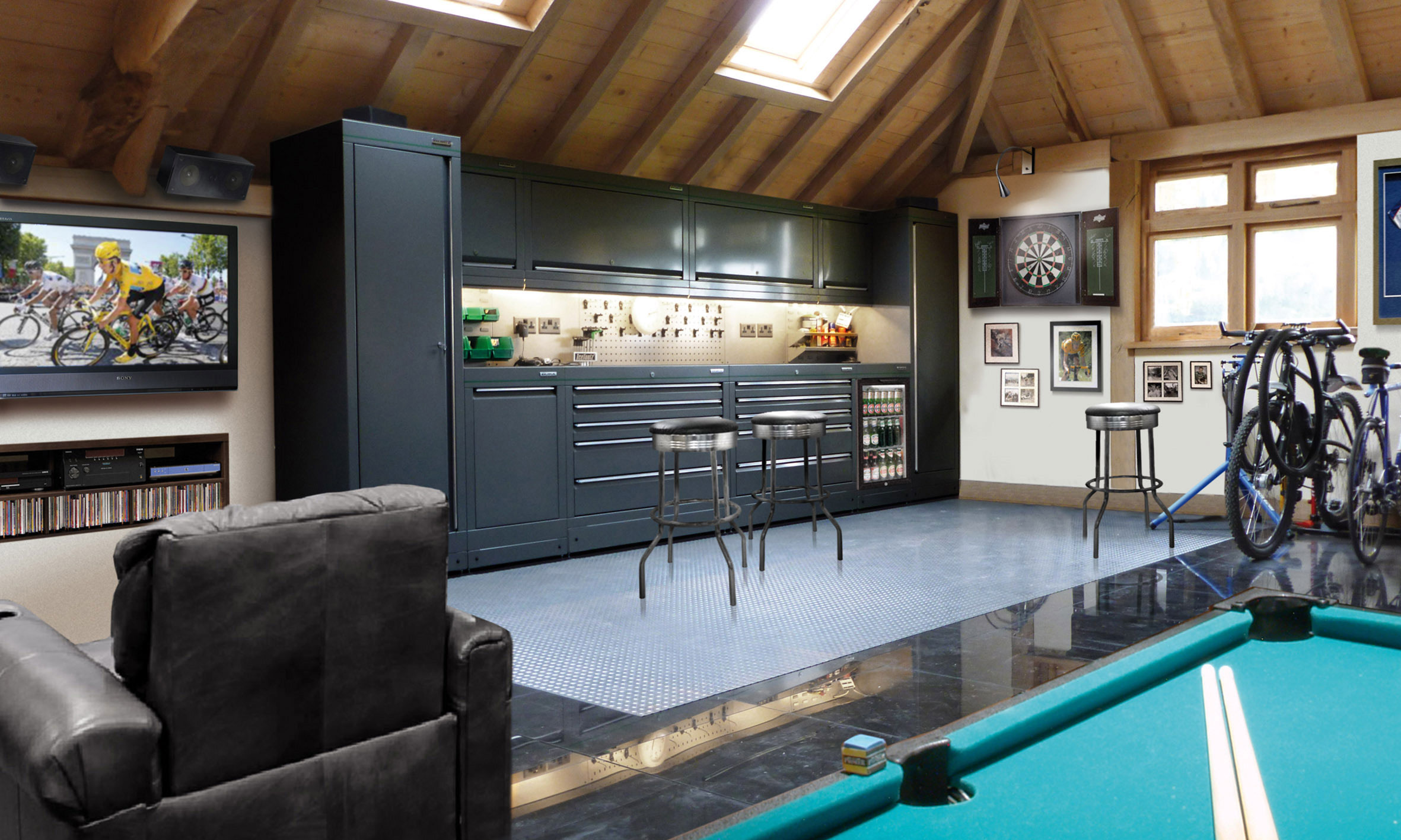 1 cool garage interiors interior design 25 garage garage design ideas architectural design
