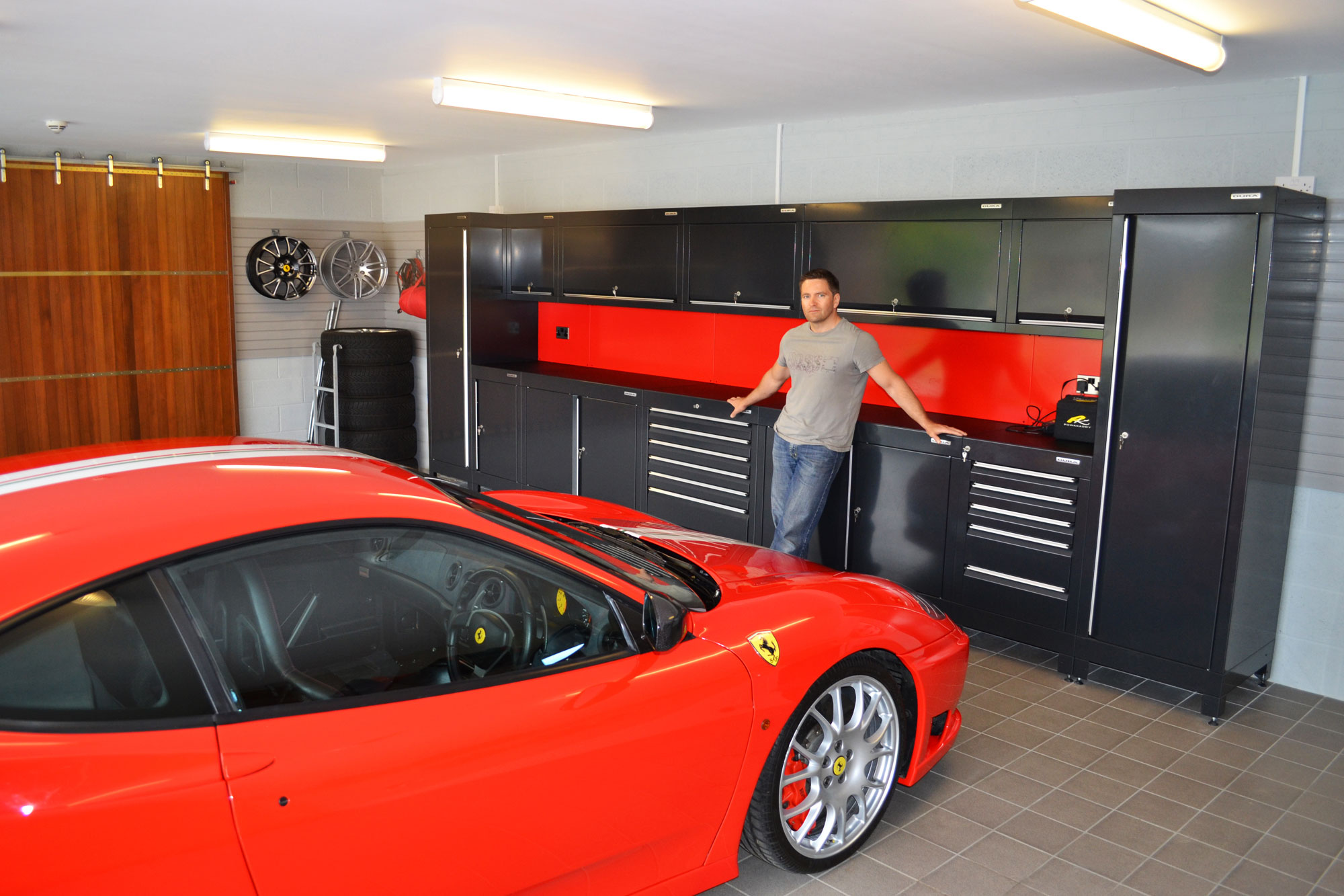 Garage Interior Design Tidy Garage High Quality Home Design