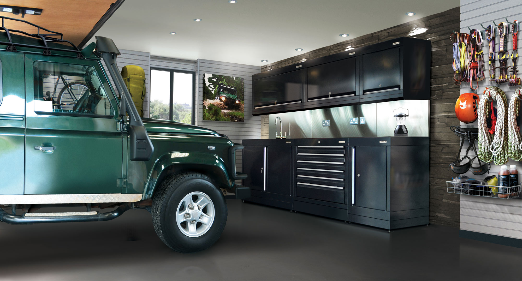 Designer garage interiors   the new must have. Designer garage interiors   the new must have