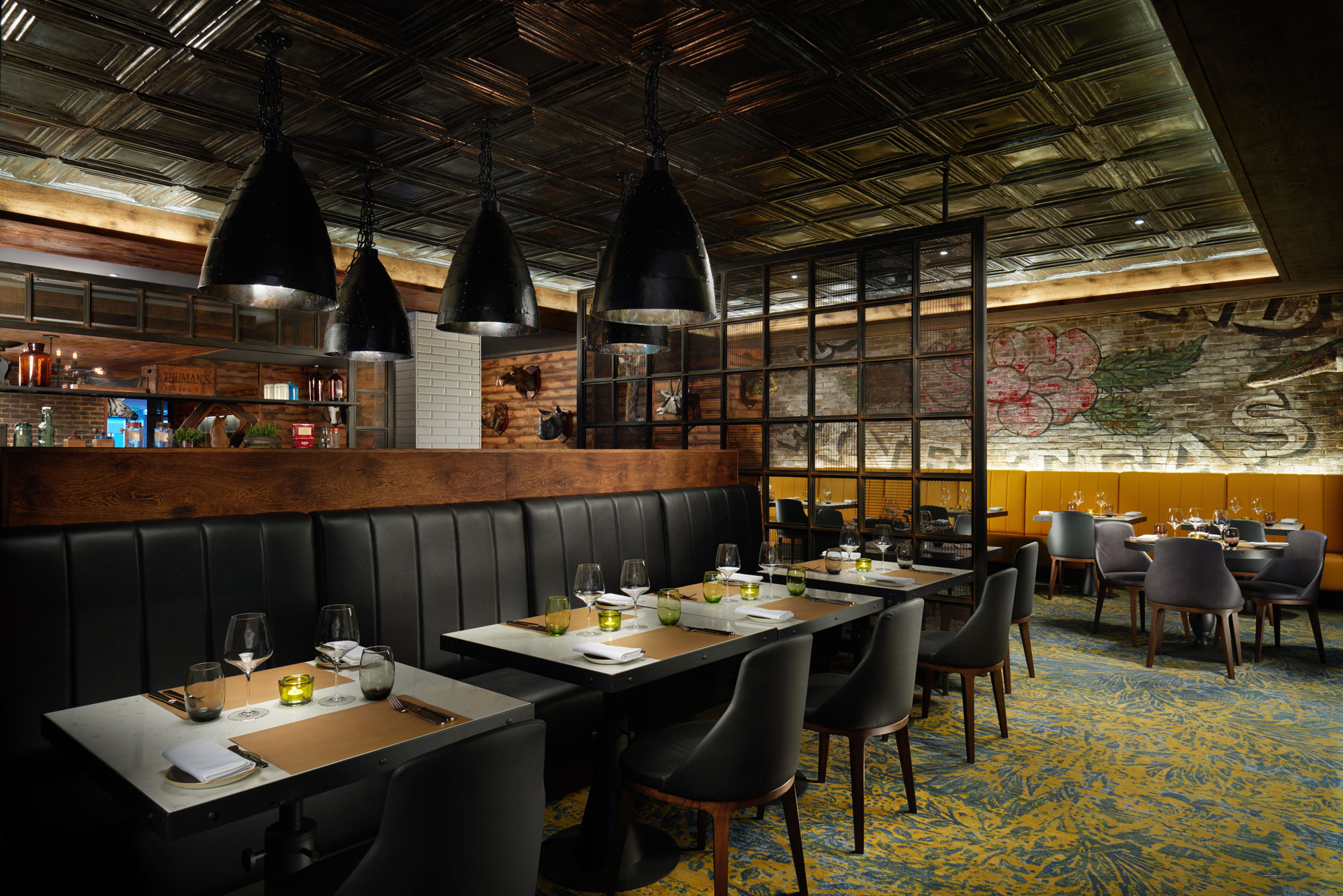 OXBO Bankside Restaurant at the Hilton London Bankside