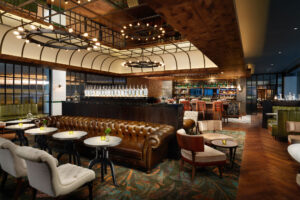The Distillery, the hotel's resident bar