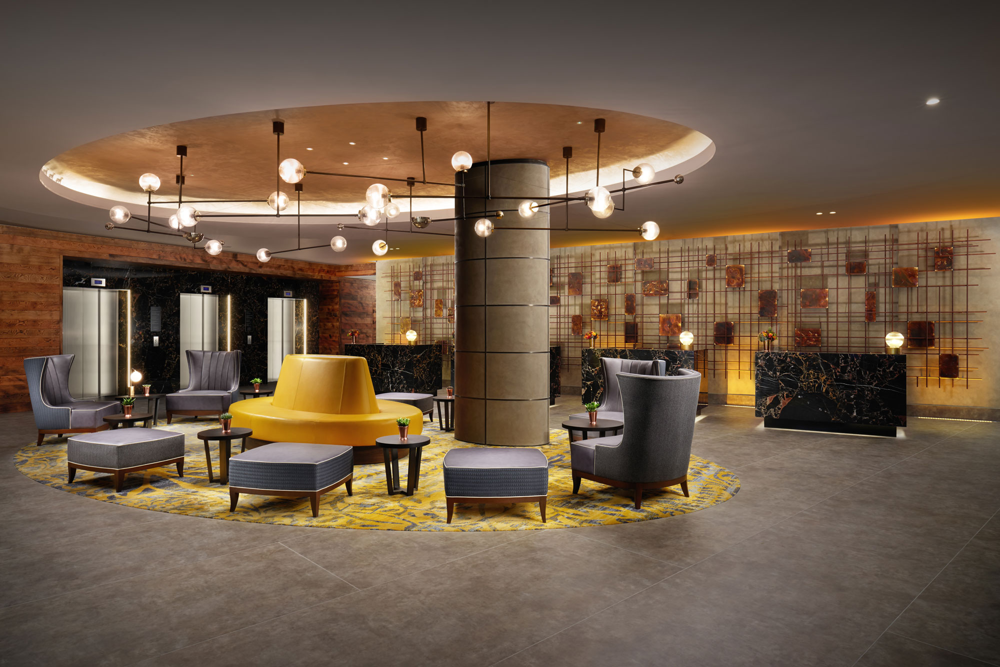 Hilton london bankside opens for Hotel design london