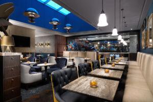 The Executive Lounge at the Hilton London Bankside