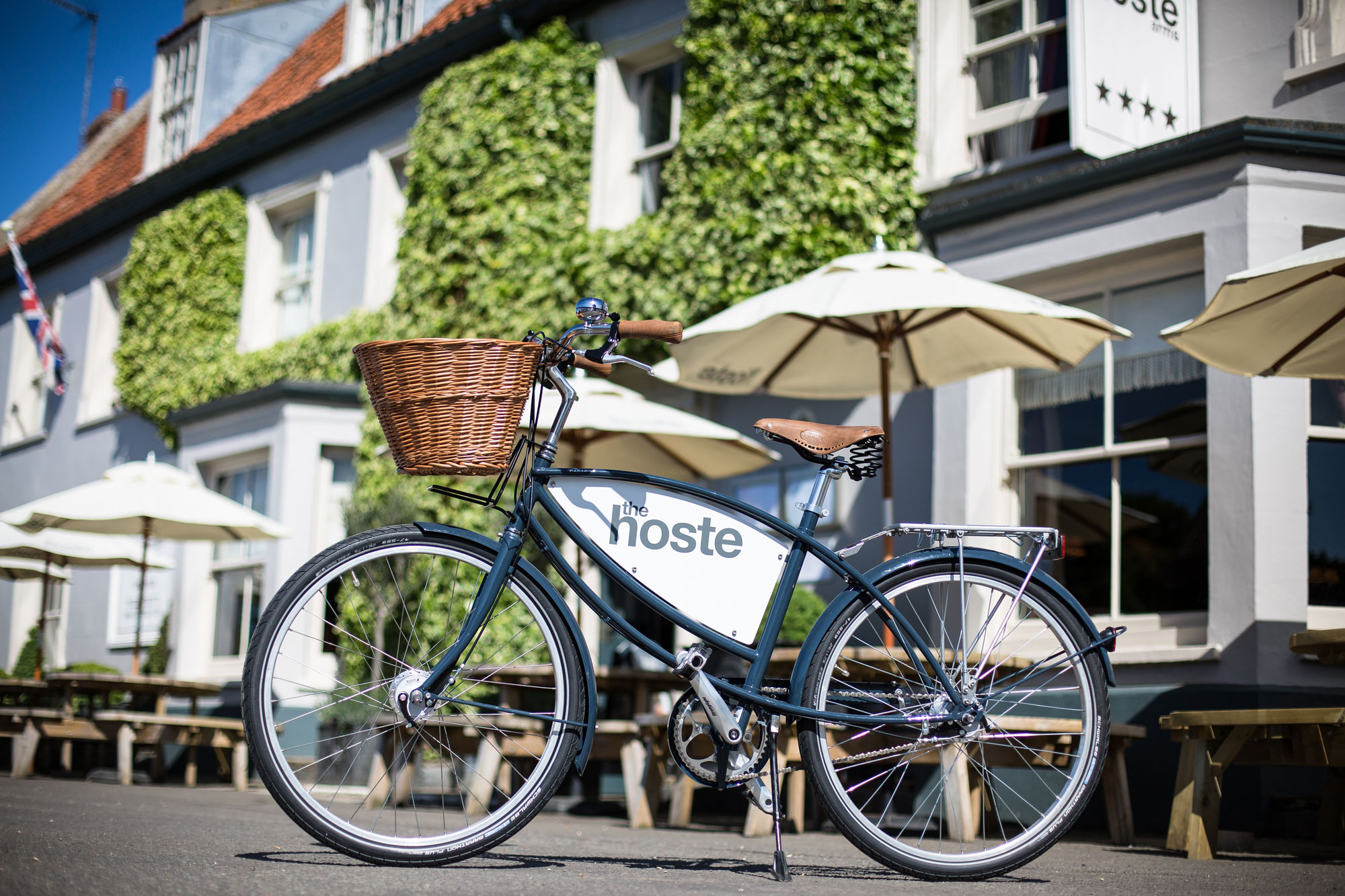 The village of Burnham Market in Norfolk is home to a very good 'Hoste'