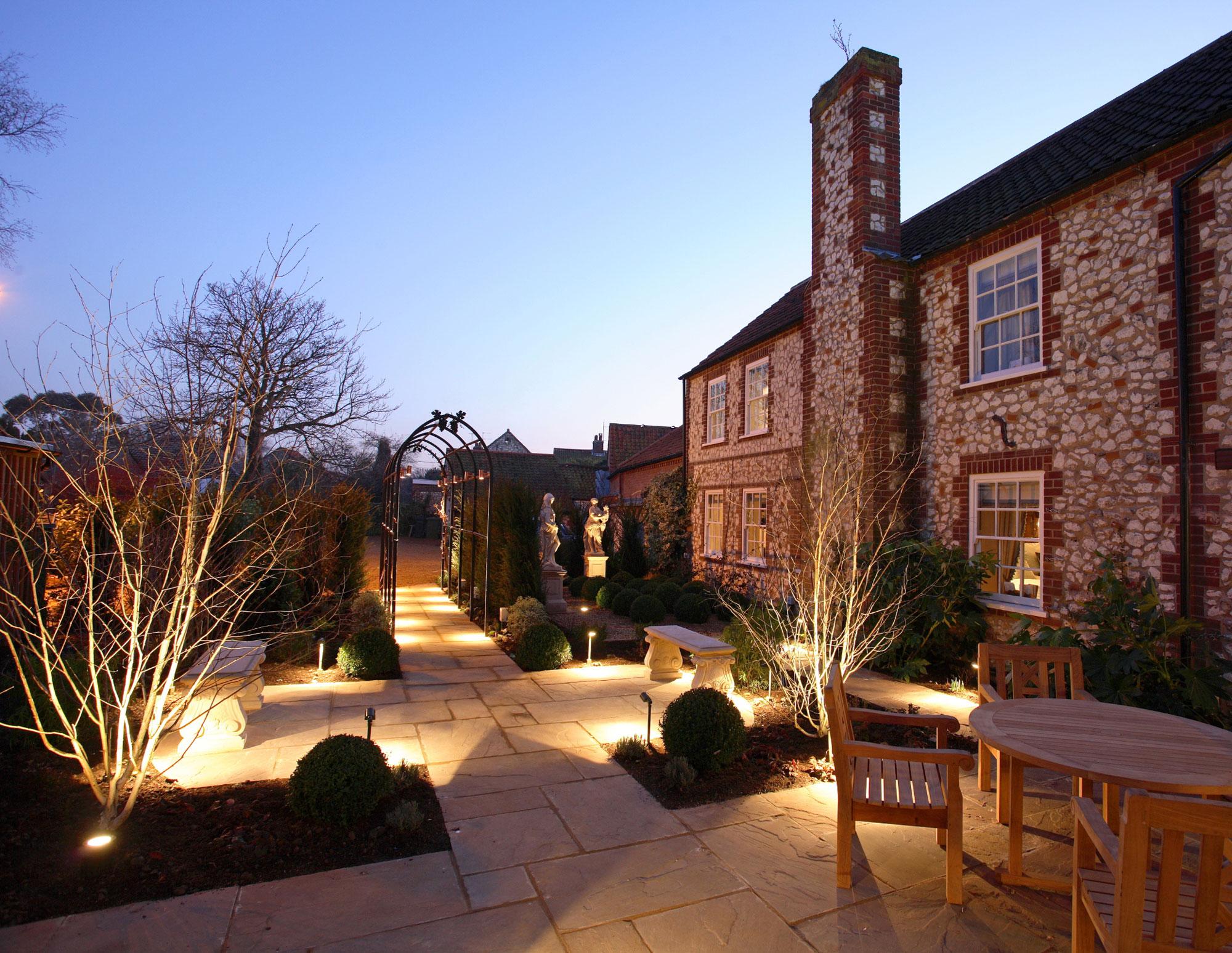 Hoste Hotel in Burnham Market in Norfolk