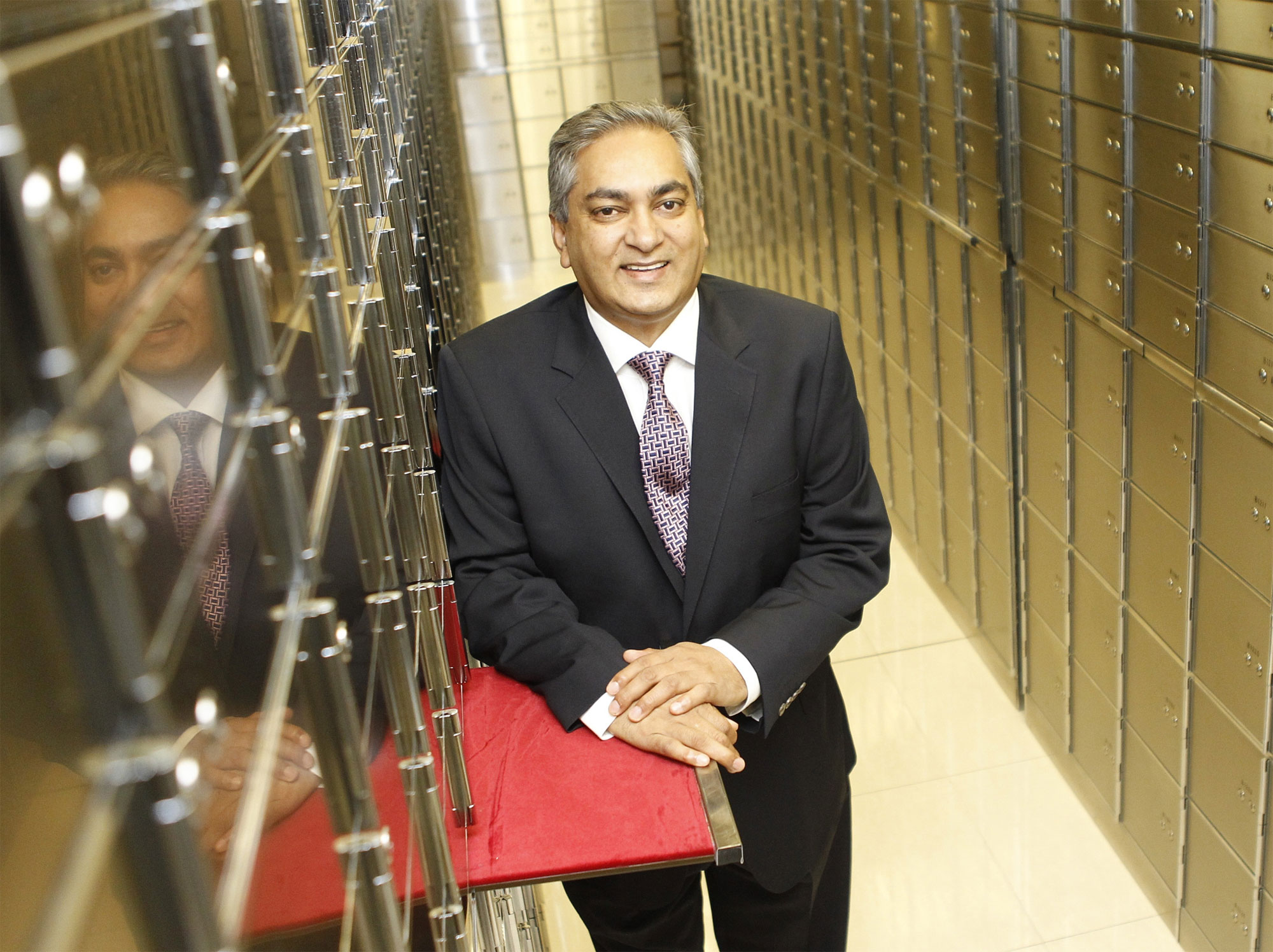 Ashok Sewnarain, CEO Of IBV International Vaults