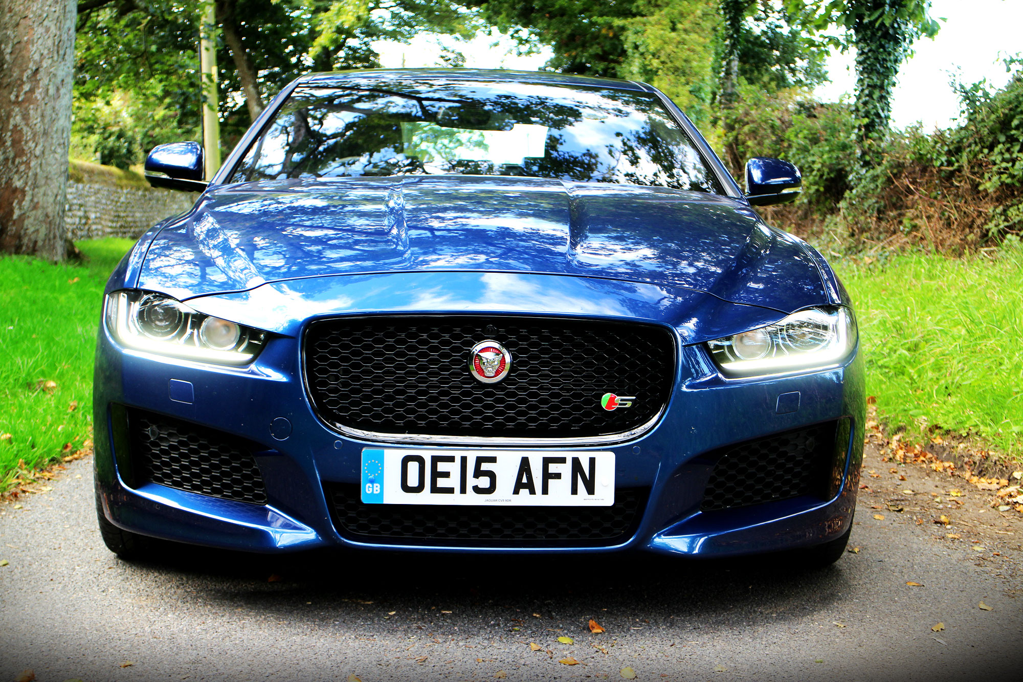 Jaguar Xe S Review 2015