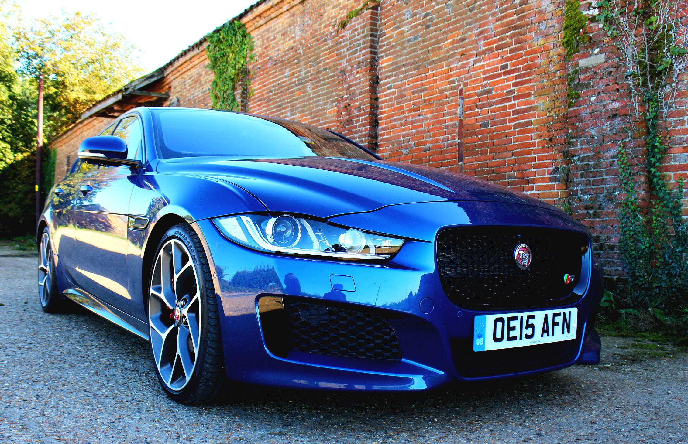 Simon Wittenberg, puts the Jaguar XE S through its paces on the twisting country lanes of North Norfolk