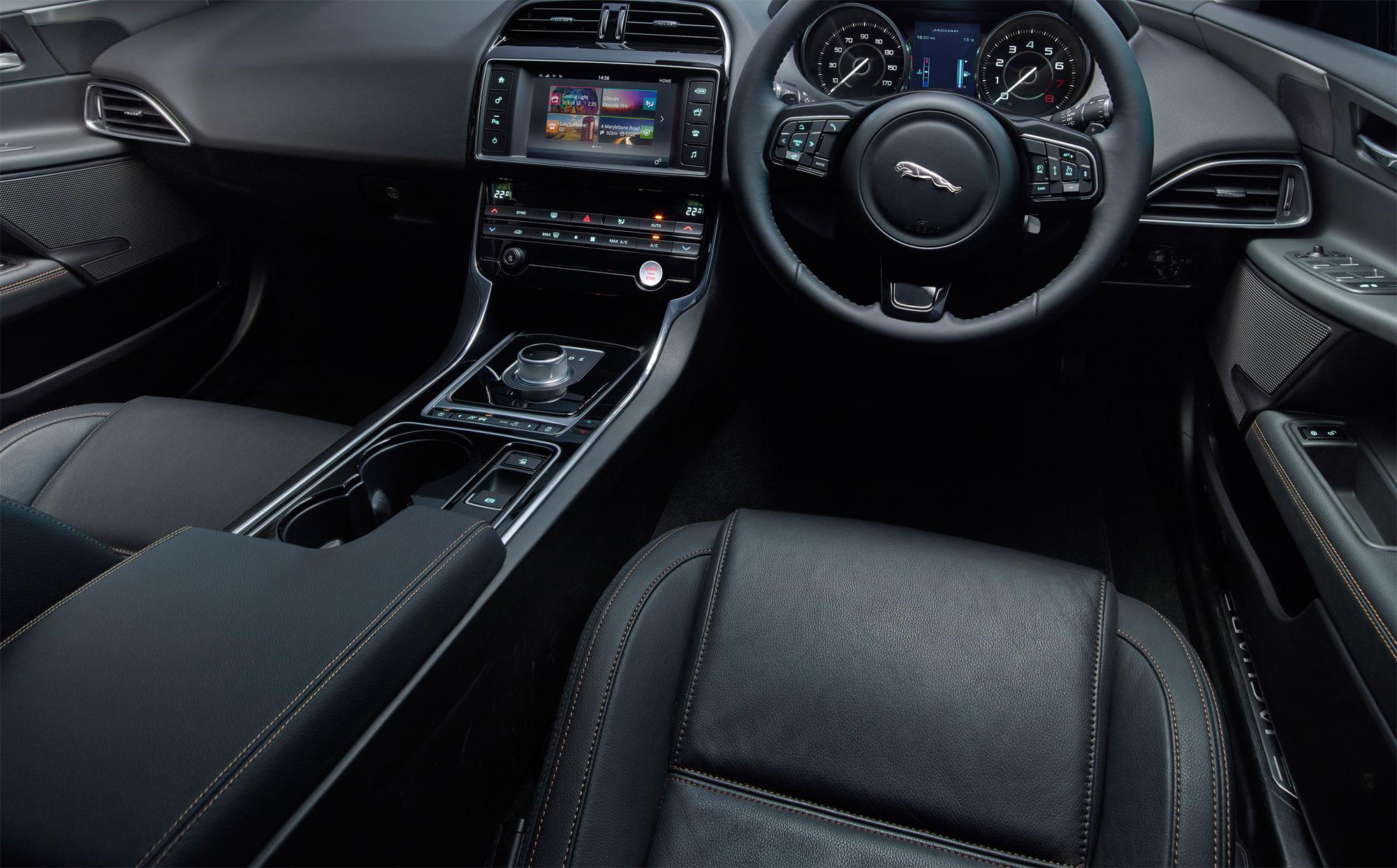 Jaguar XE S Review 2015