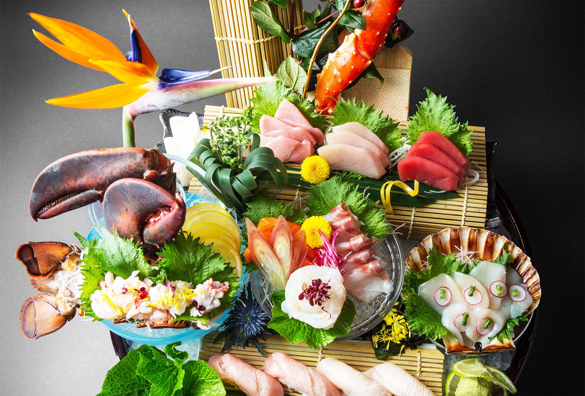 Culinary Composition At Kouzu