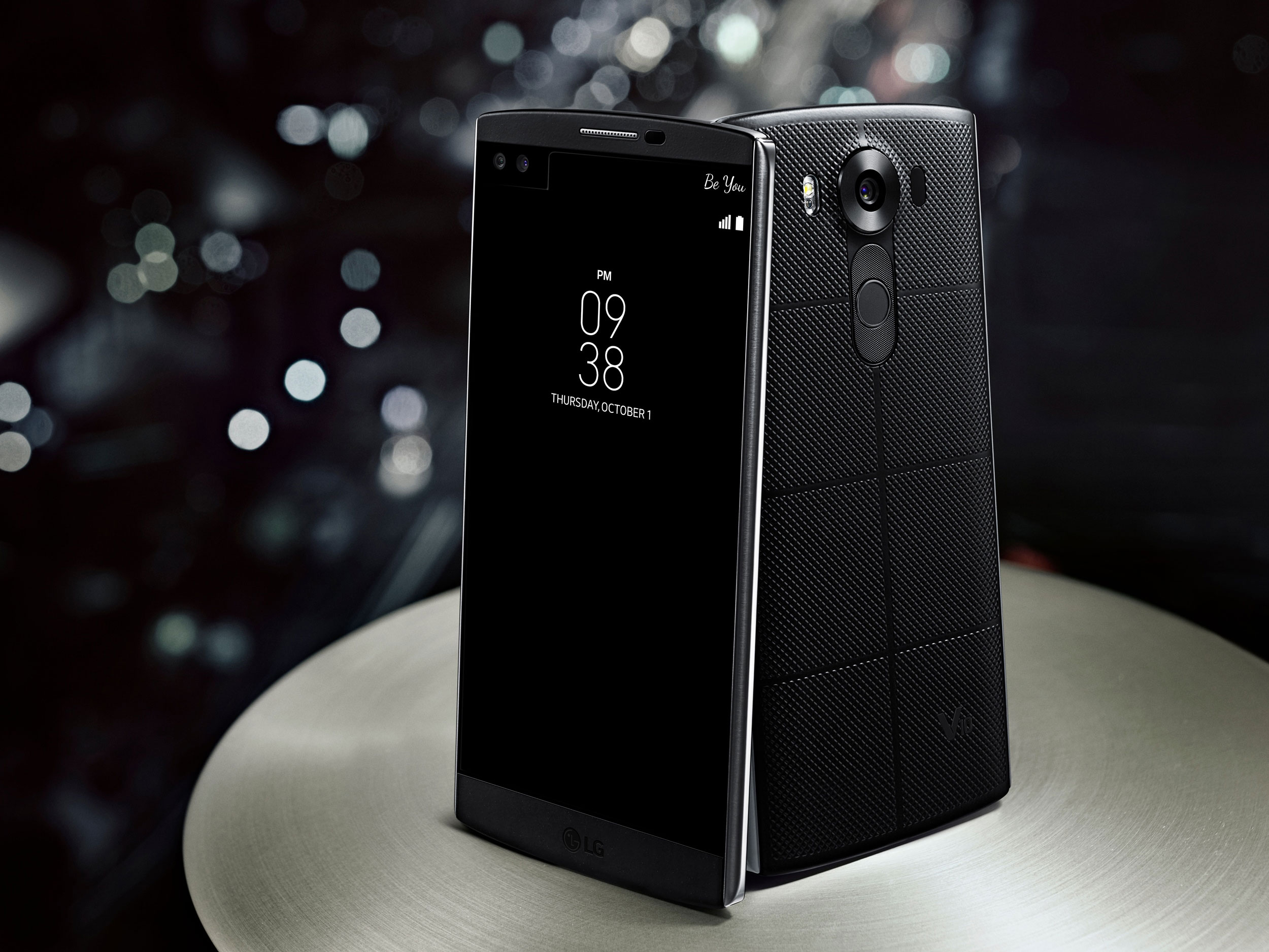 The sound in the LG V10 has been designed to be best-in-class