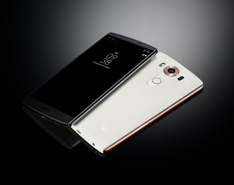 The LG V10 Smartphone ups the ante once again