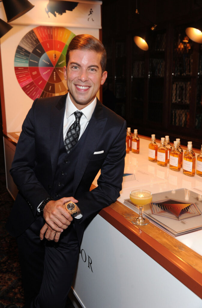 Luis Ortiz celebrates the launch of the new Johnnie Walker Joy Will Take You Further campaign at The Explorers Club NYC