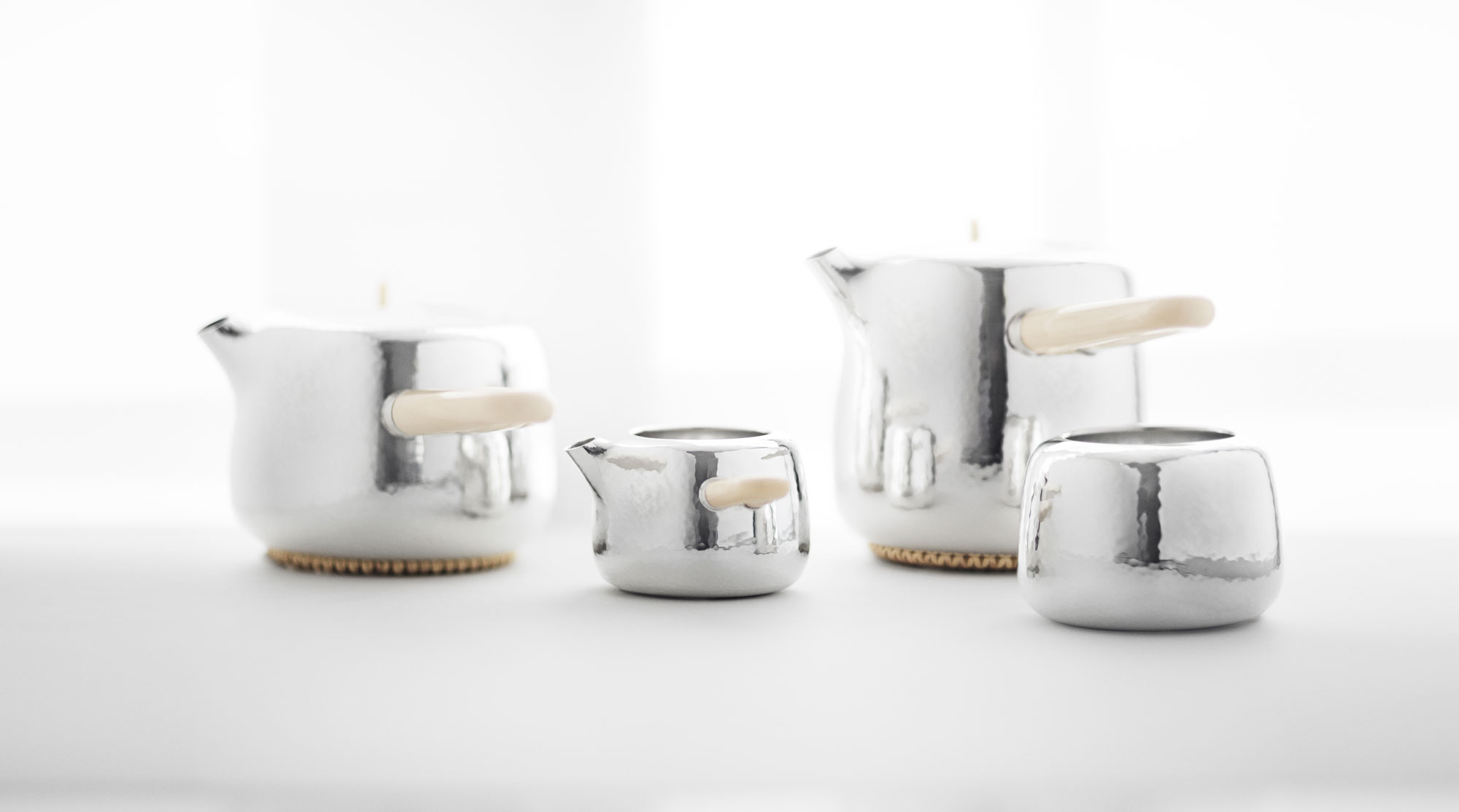 Marc Newson & Georg Jensen create limited edition mammoth tea service