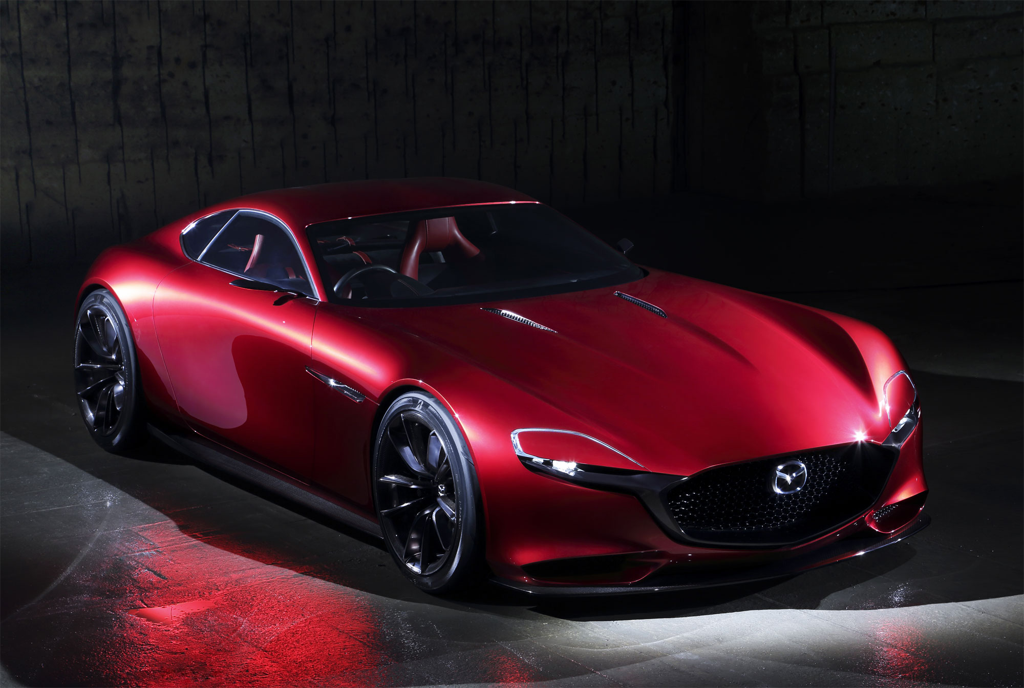 Mazda RX-VISION Concept - A vision of the Future that Harbors the Soul of the Mazda Brand