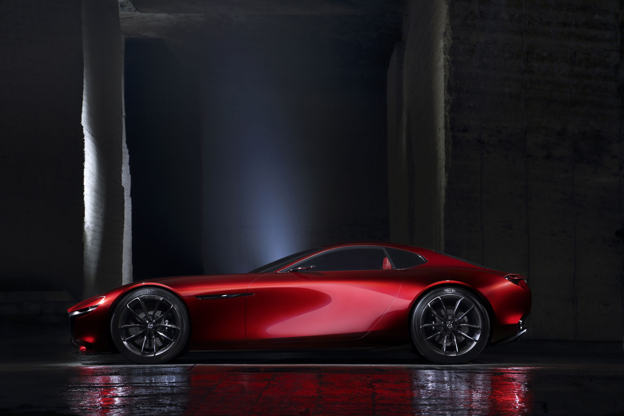 The Mazda RX-VISION Rotary Sports Car Concept 5
