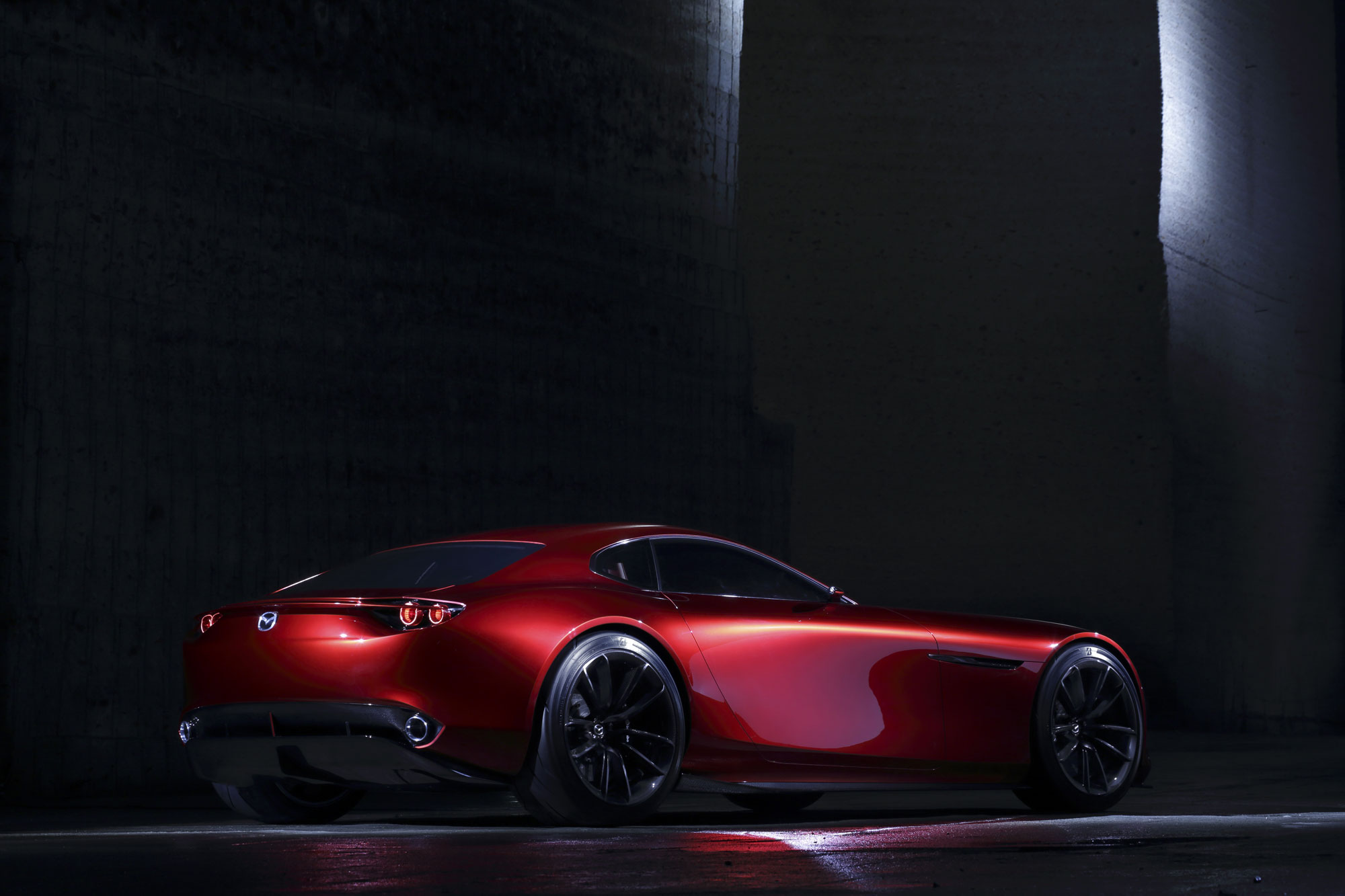 The Mazda RX-VISION Rotary Sports Car Concept 6