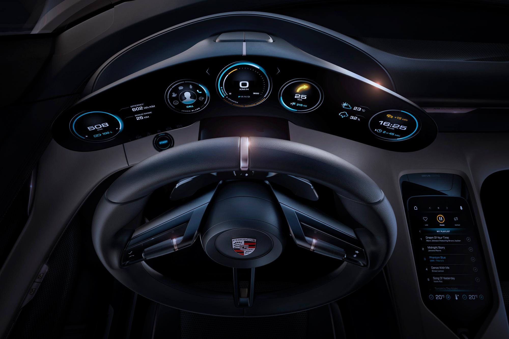 Jon McKnight discusses the capabilities of the Porsche Mission E 1