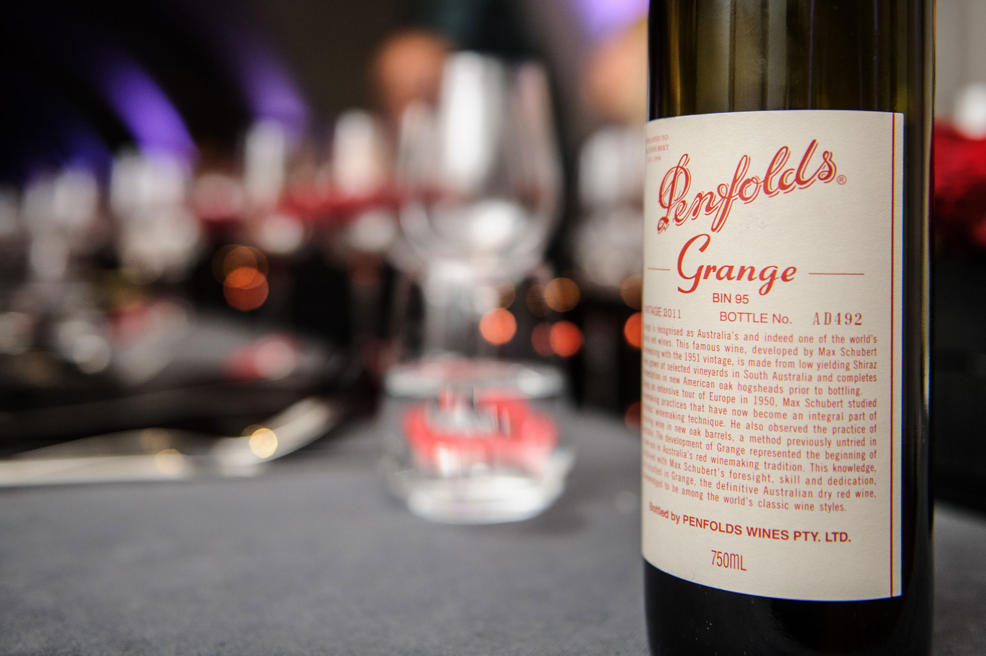 The 61st Grange from the Penfolds Collection 2015