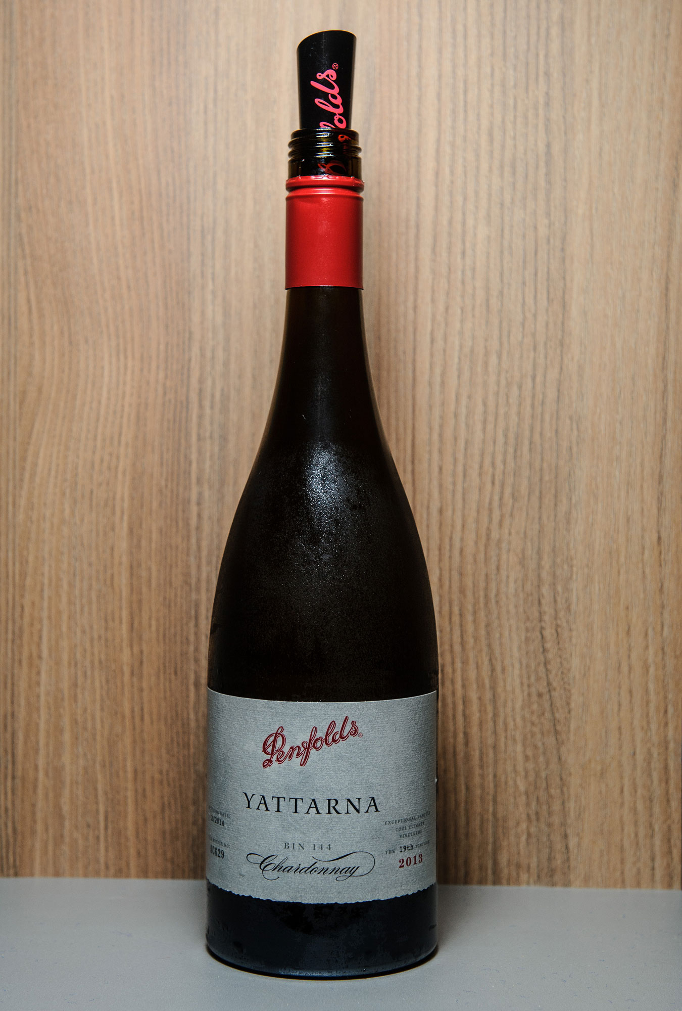 The legendary 2013 Yattarna from the Penfolds Collection