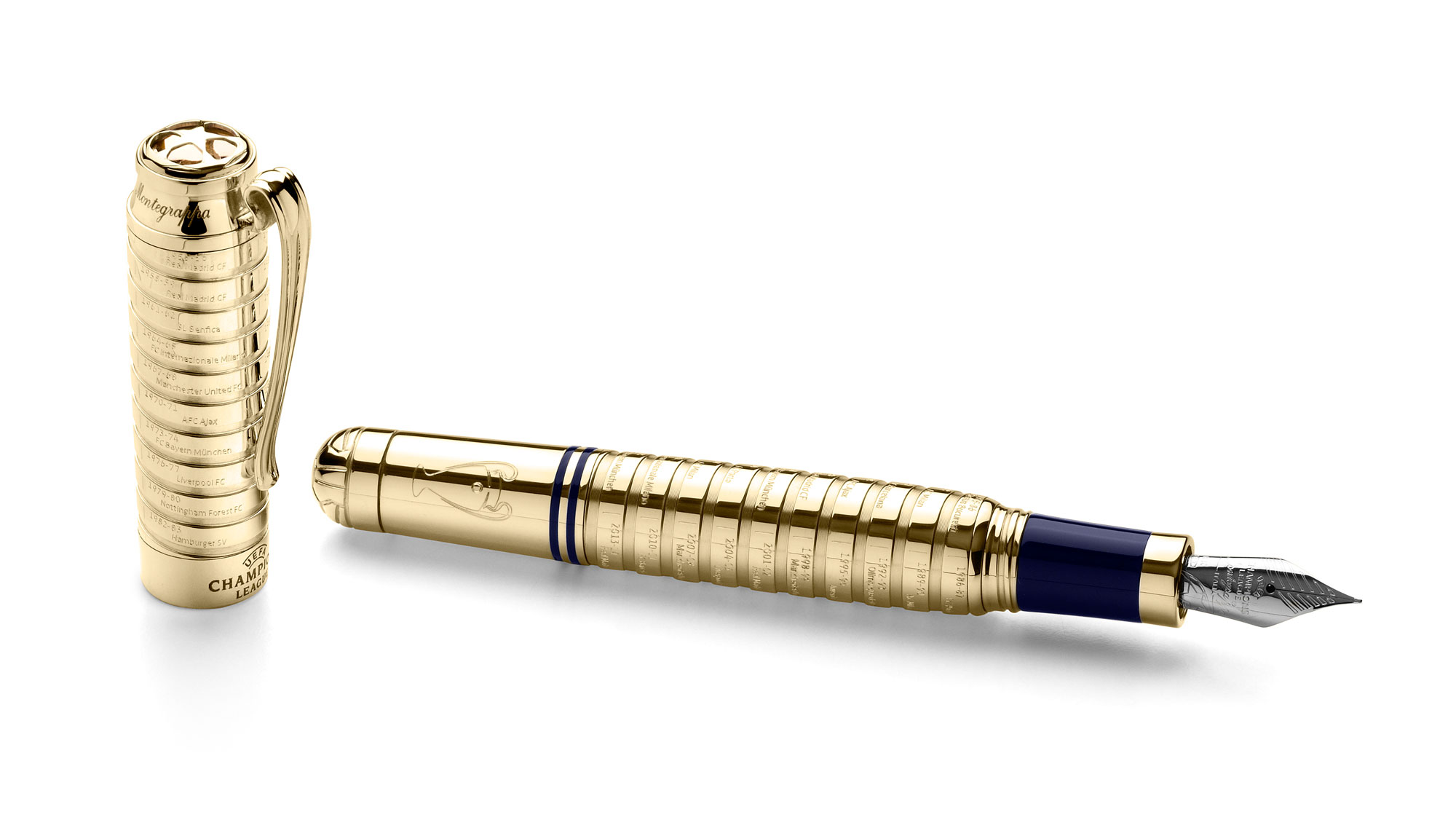 Montegrappa launch new UEFA Champions League pen collection 4