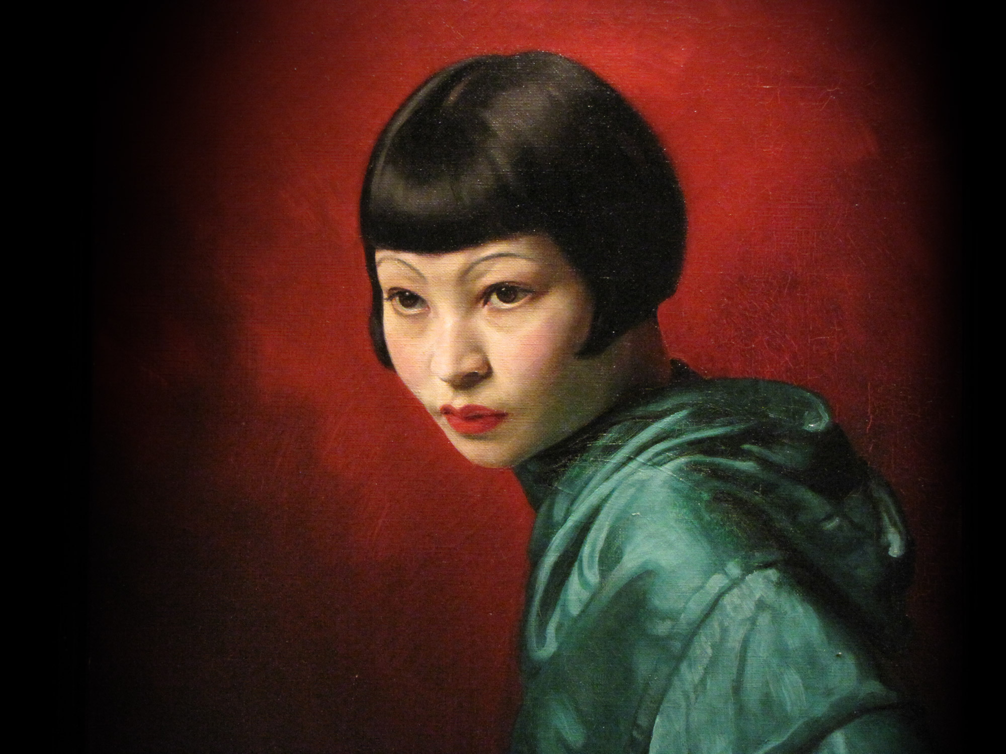 David Jagger's 'A Chinese Lady' painted in 1936