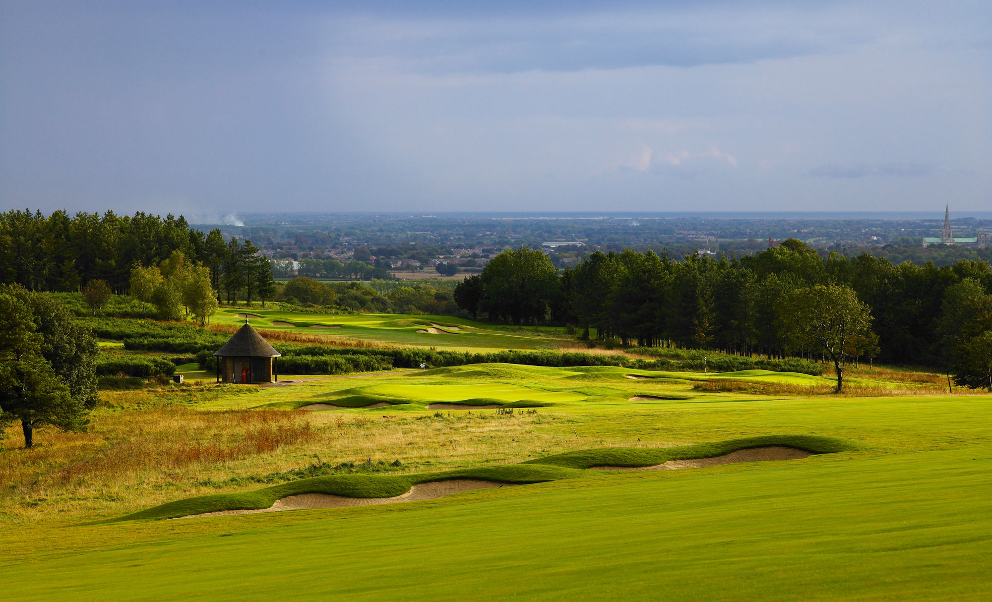 Downs Course 7th Fairway - Golf at Goodwood