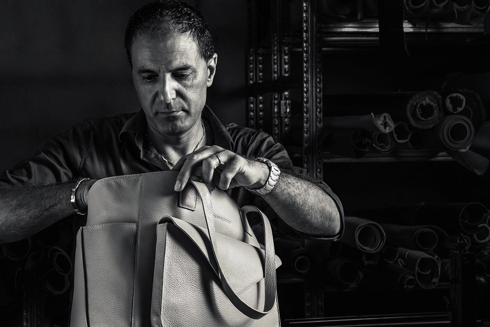 Italian designer Marco Massaccesi