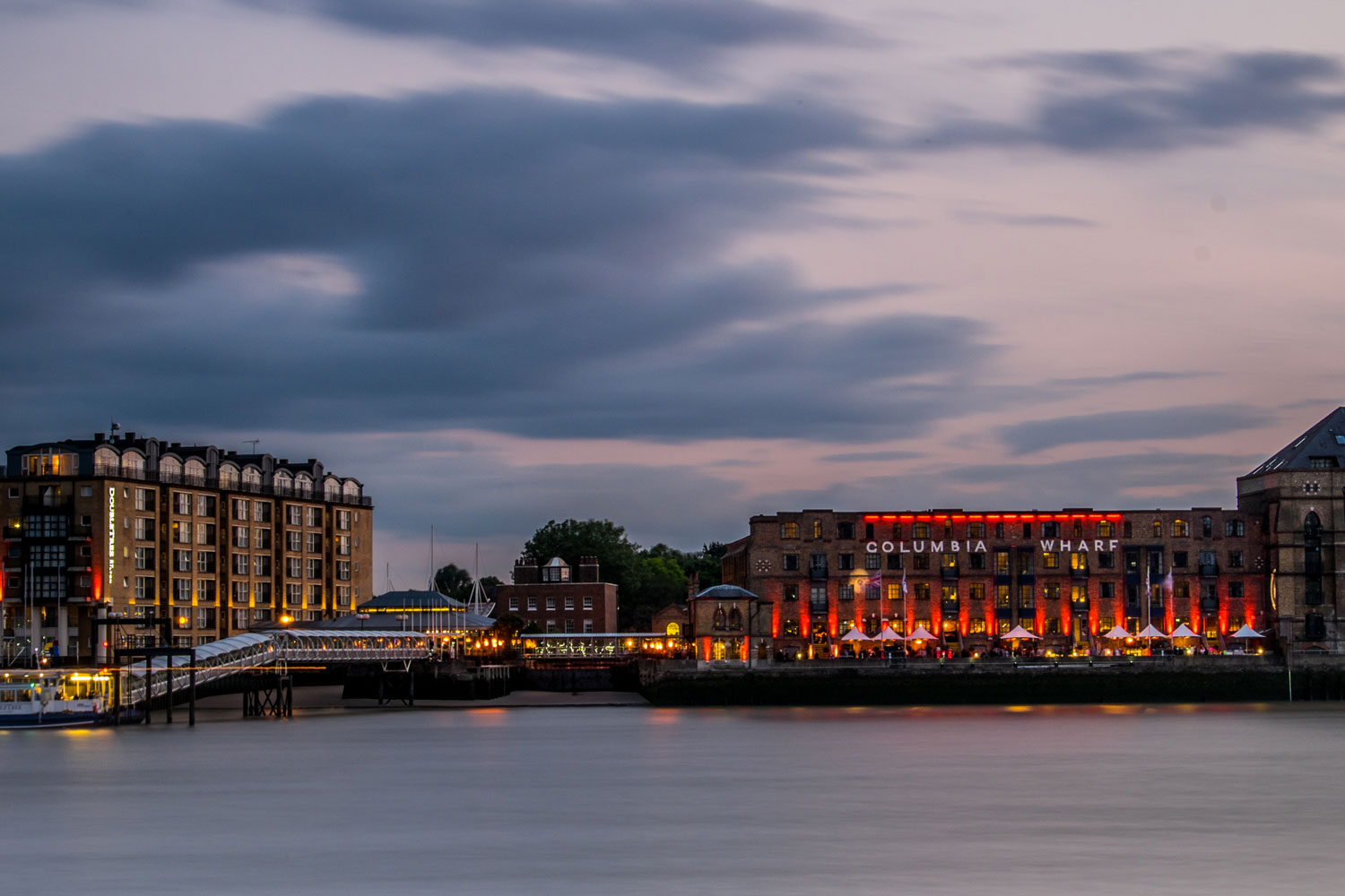 Down By The River At DoubleTree By Hilton Hotel London - Docklands