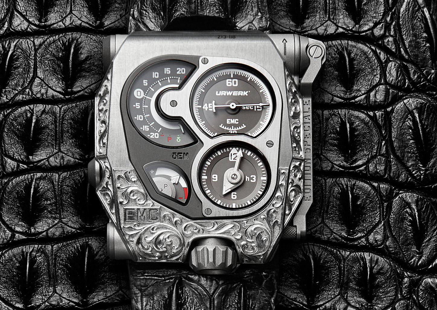 The EMC Pistol Watch by URWERK