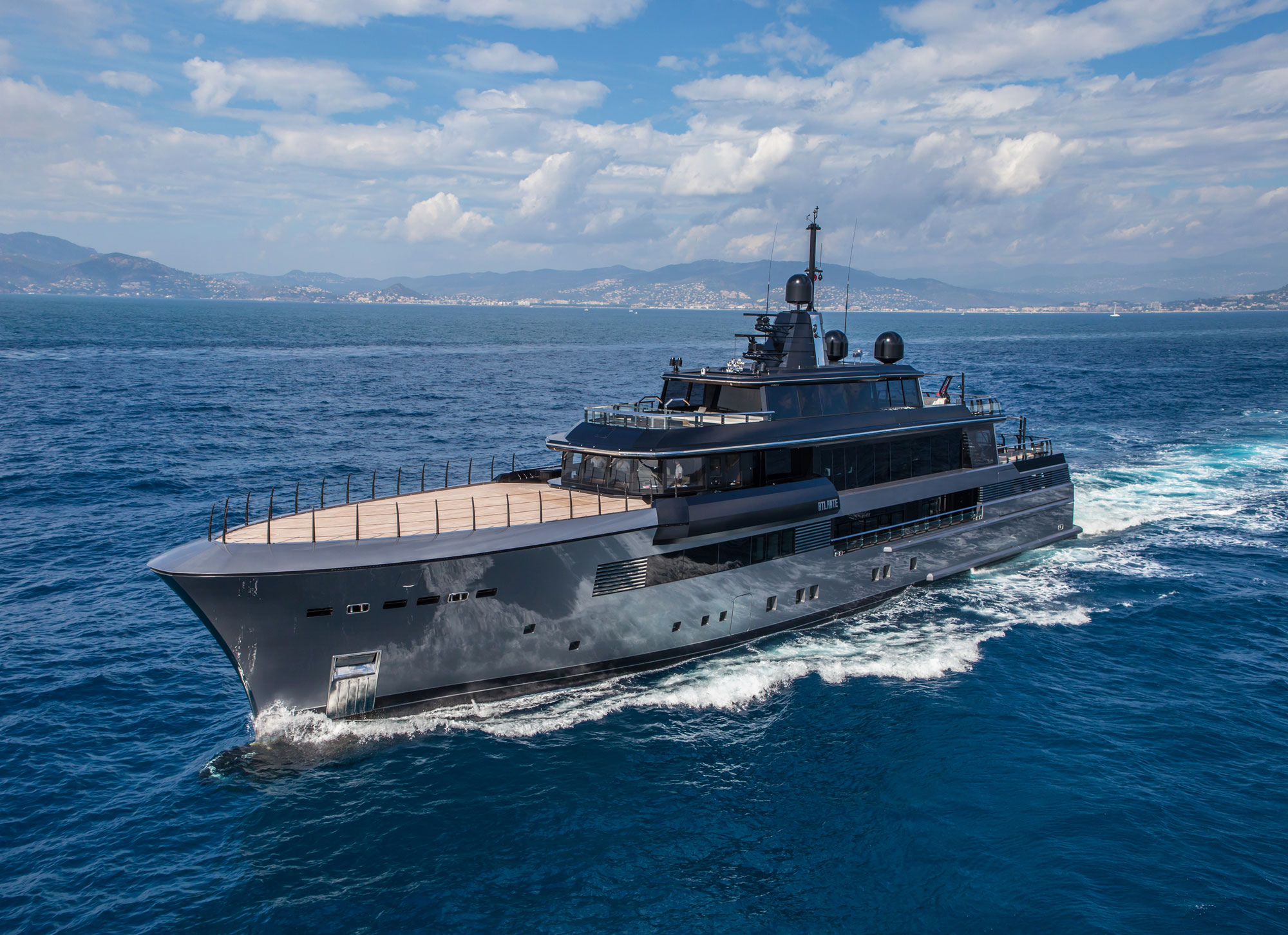 Atlante, the new 55 metre megayacht from CRN