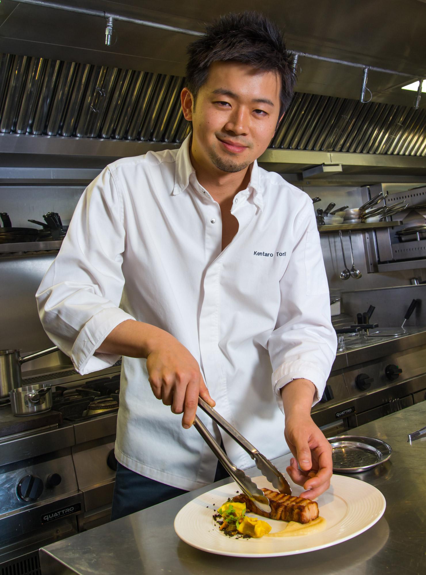 Kentaro Torii, Executive Chef at Bella Cosa