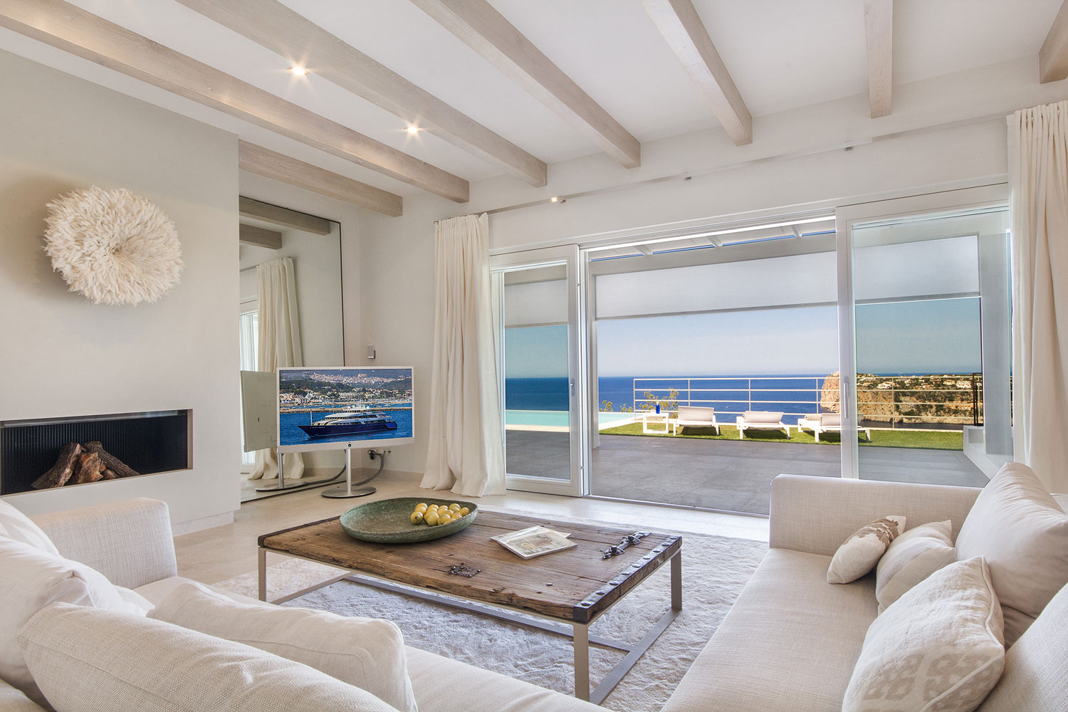 Ref 6132 – Villa with sea views for rent, Port Andratx, Mallorca