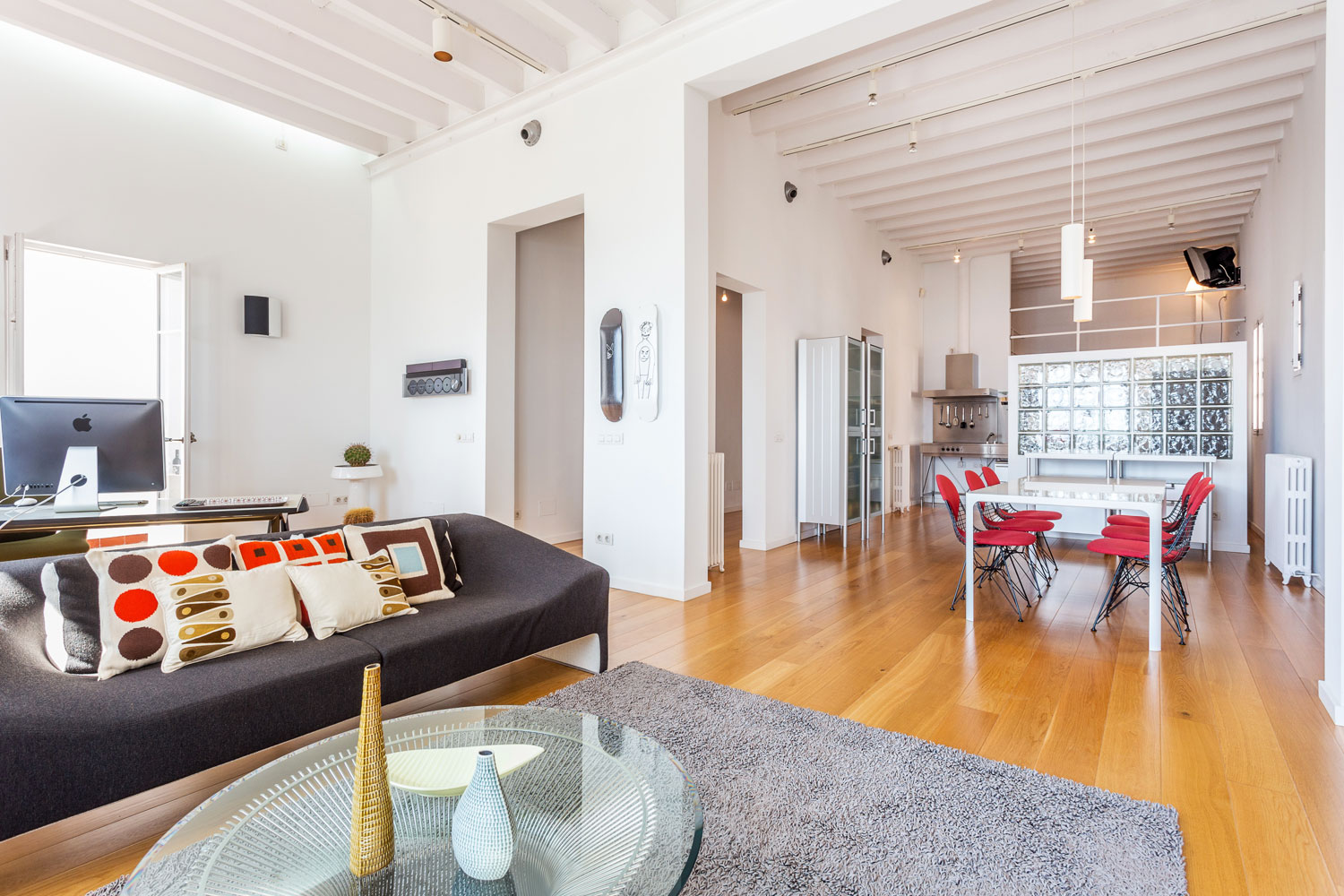 Ref 7290 – Spacious Loft for Rent, Palma, Mallorca