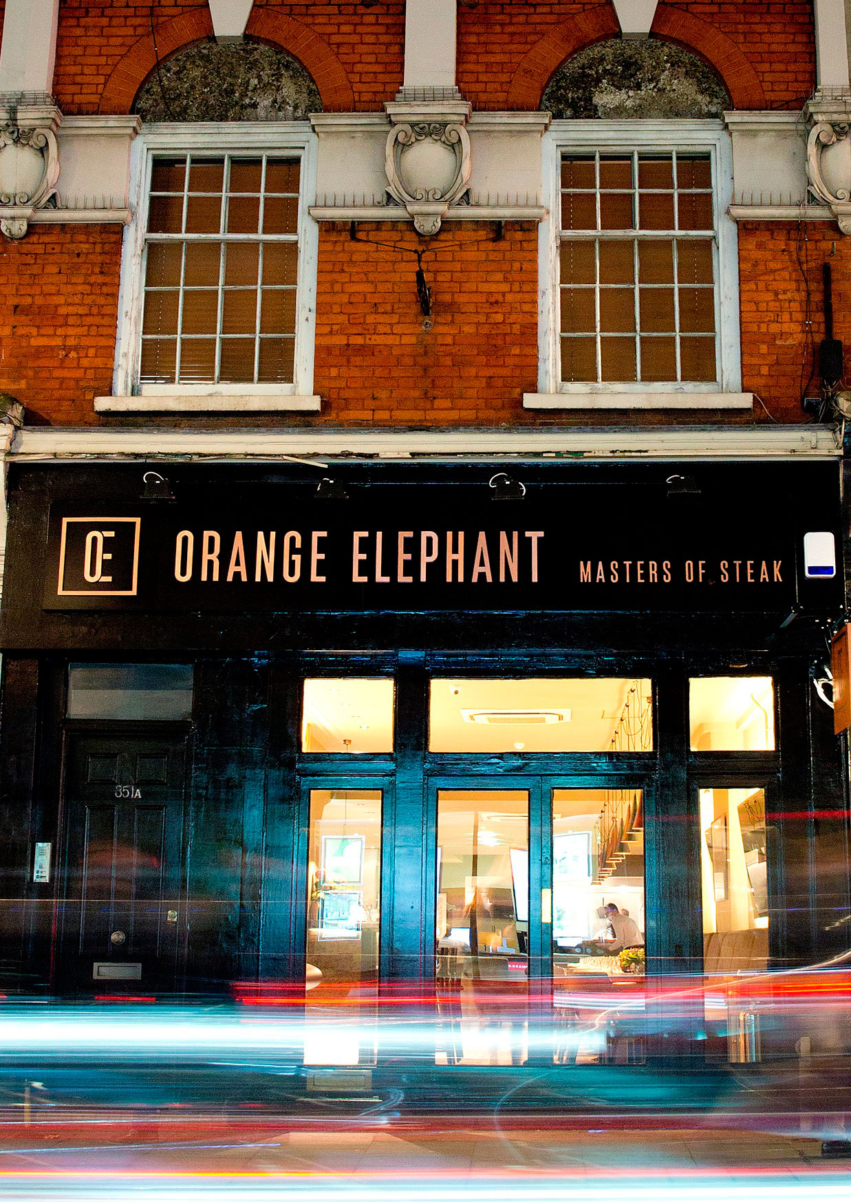 Orange Elephant is located at 351 Fulham Rd, London SW10 9TW