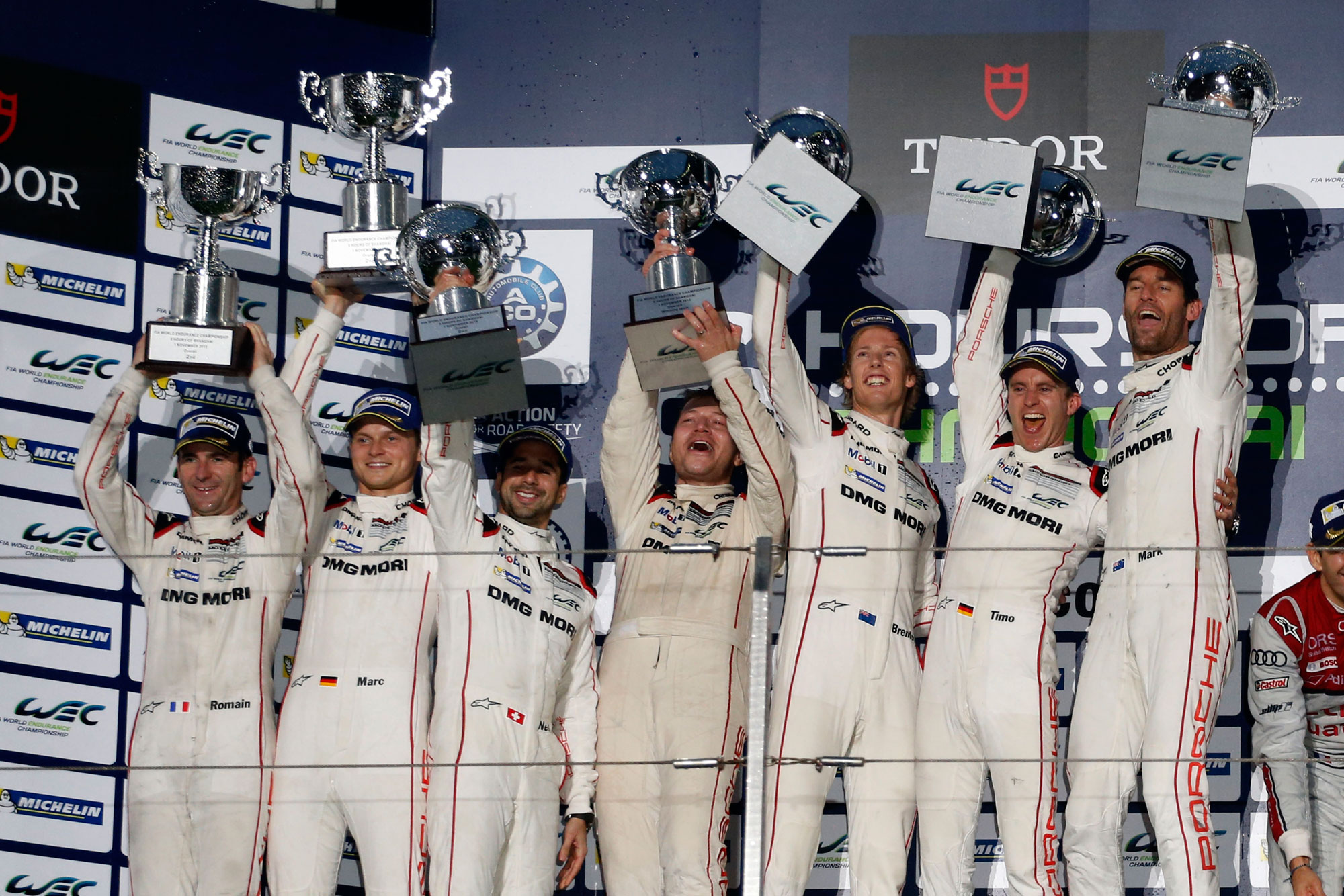 Porsche become FIA WEC World Champions For 2015