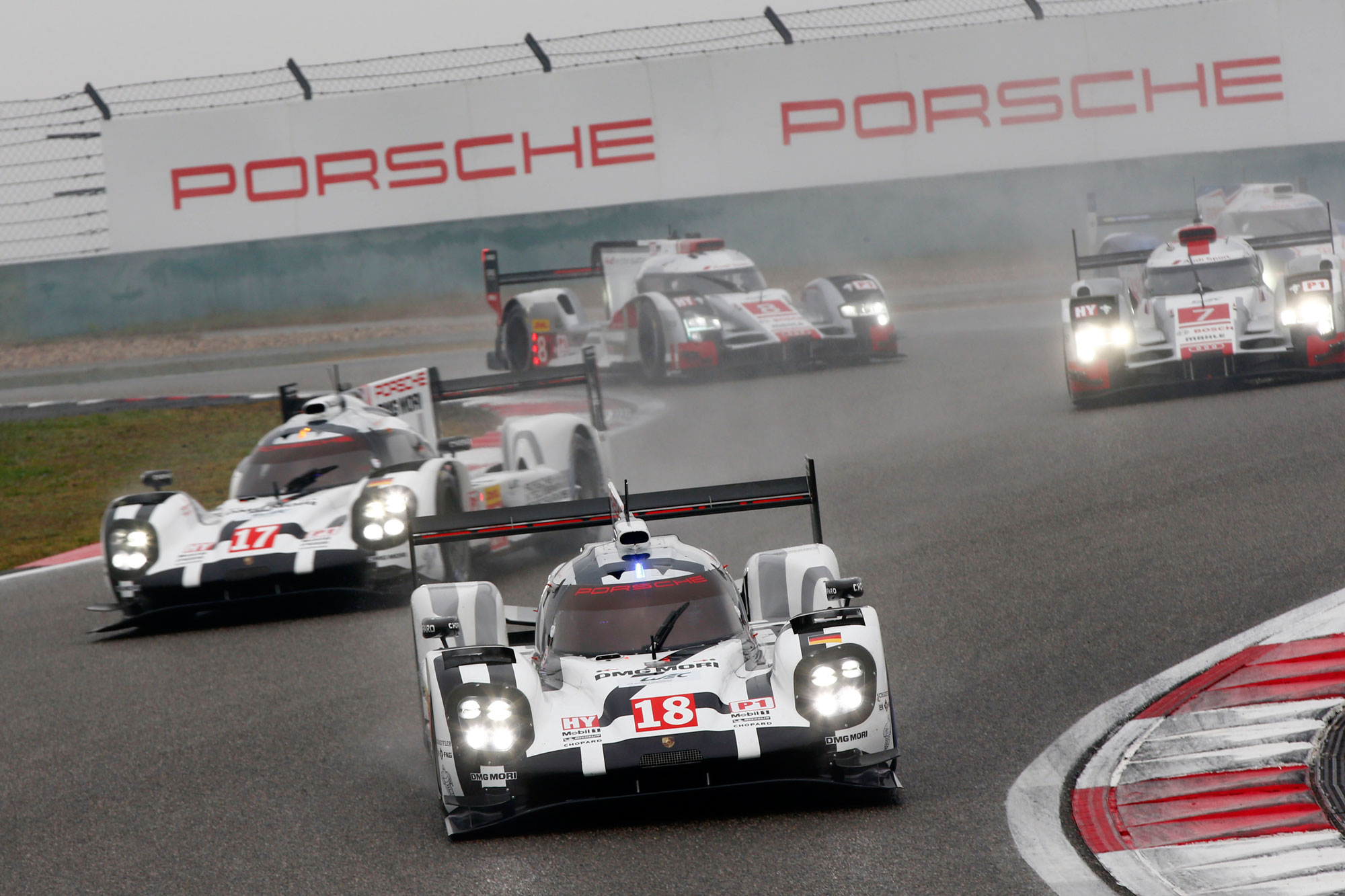 Porsche Score 1-2 in Shanghai To Become FIA WEC World Champions For 2015 10