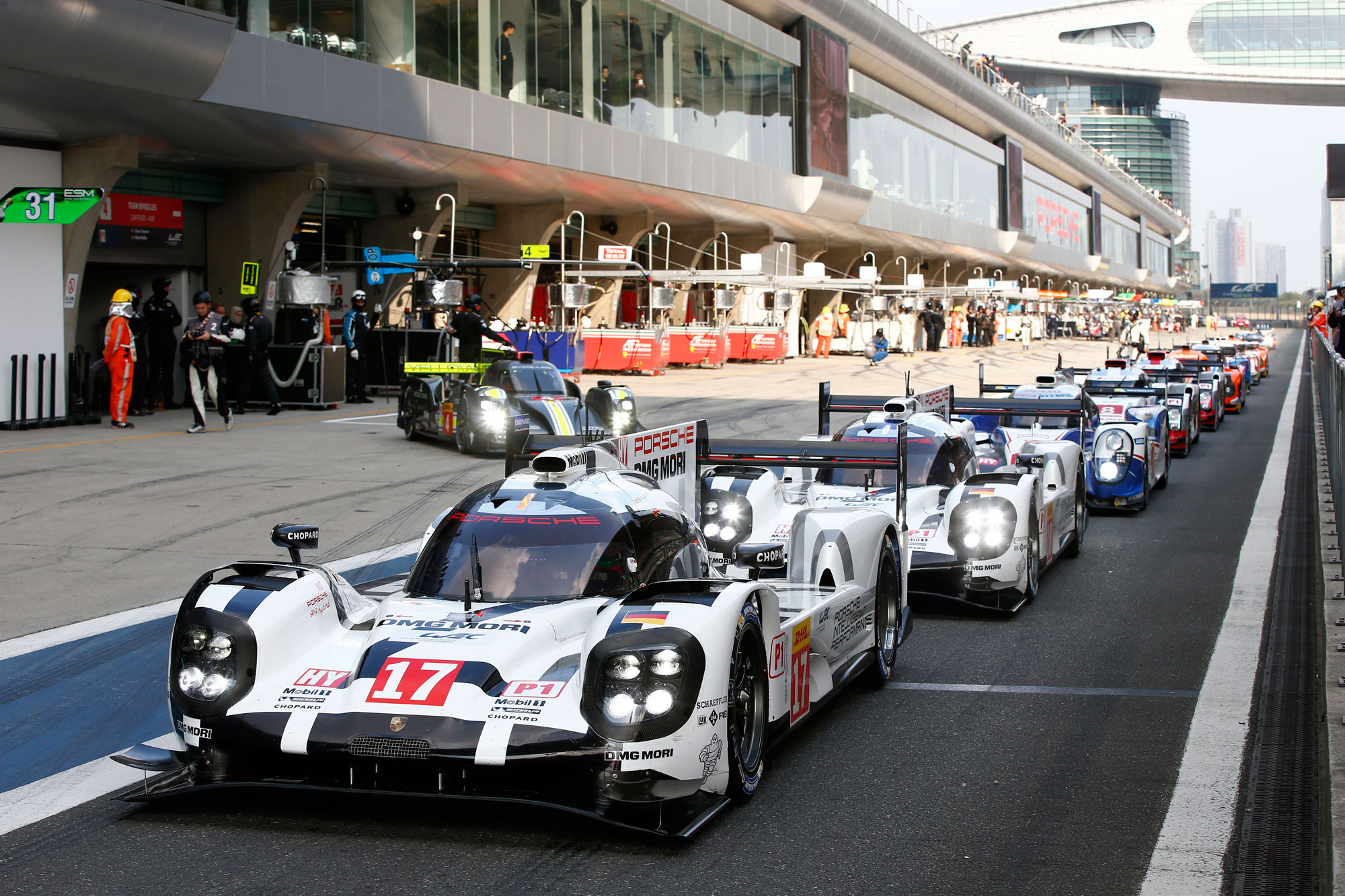 Porsche Score 1-2 in Shanghai To Become FIA WEC World Champions For 2015 9
