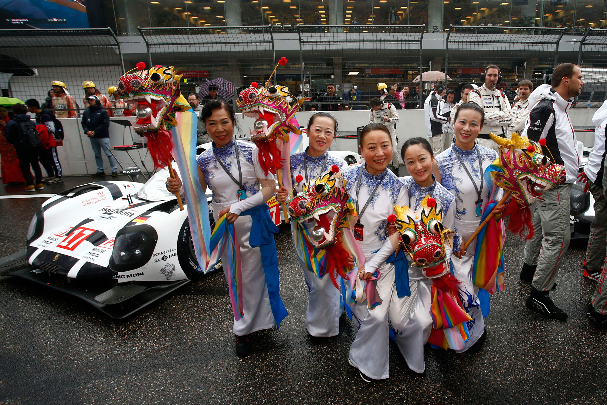 Porsche Score 1-2 in Shanghai To Become FIA WEC World Champions For 2015 14