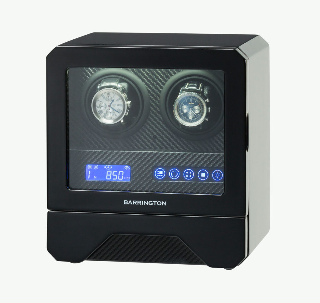 The Barrington double watch winder