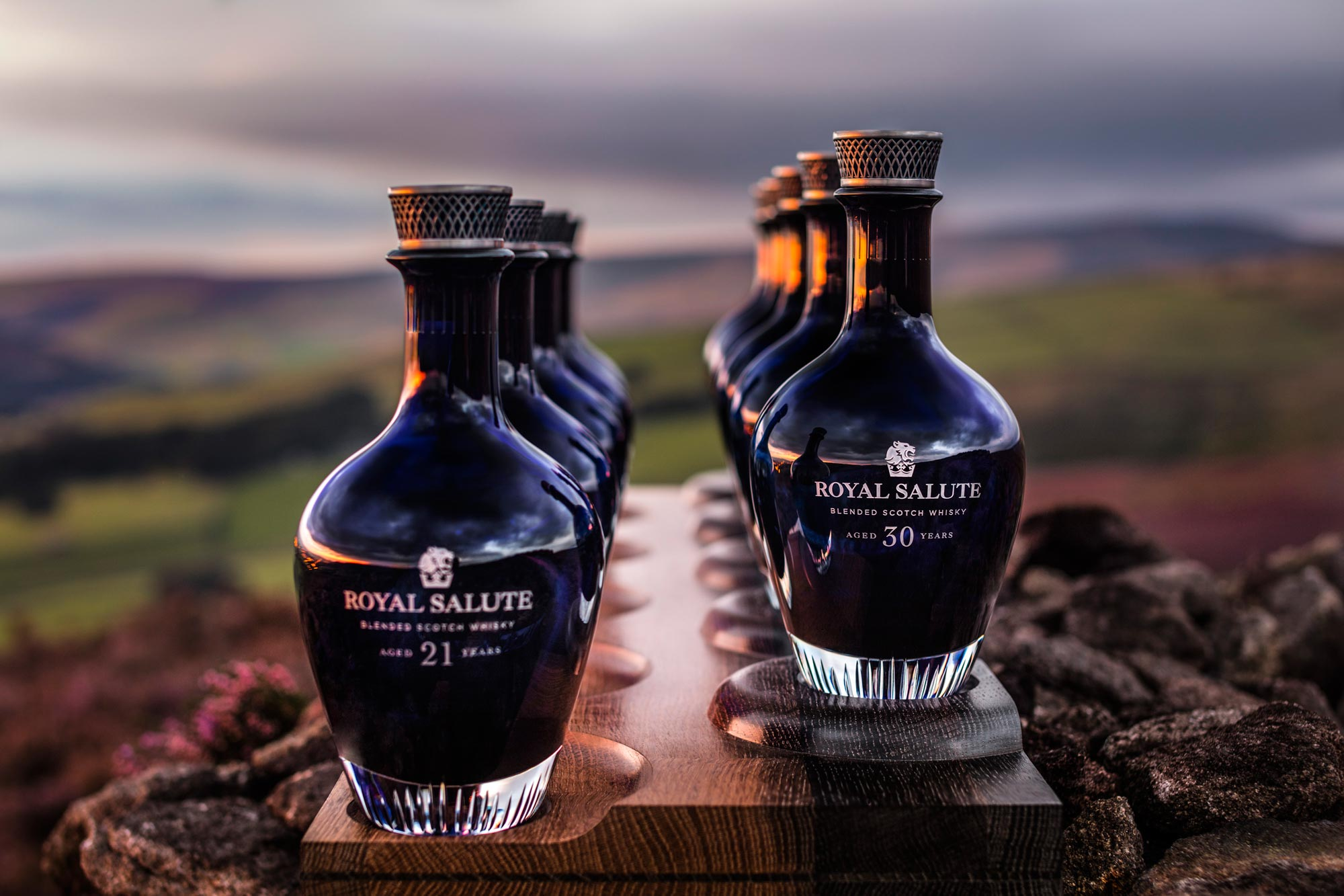 Royal Salute Whisky Releases Highly Exclusive Age Collection