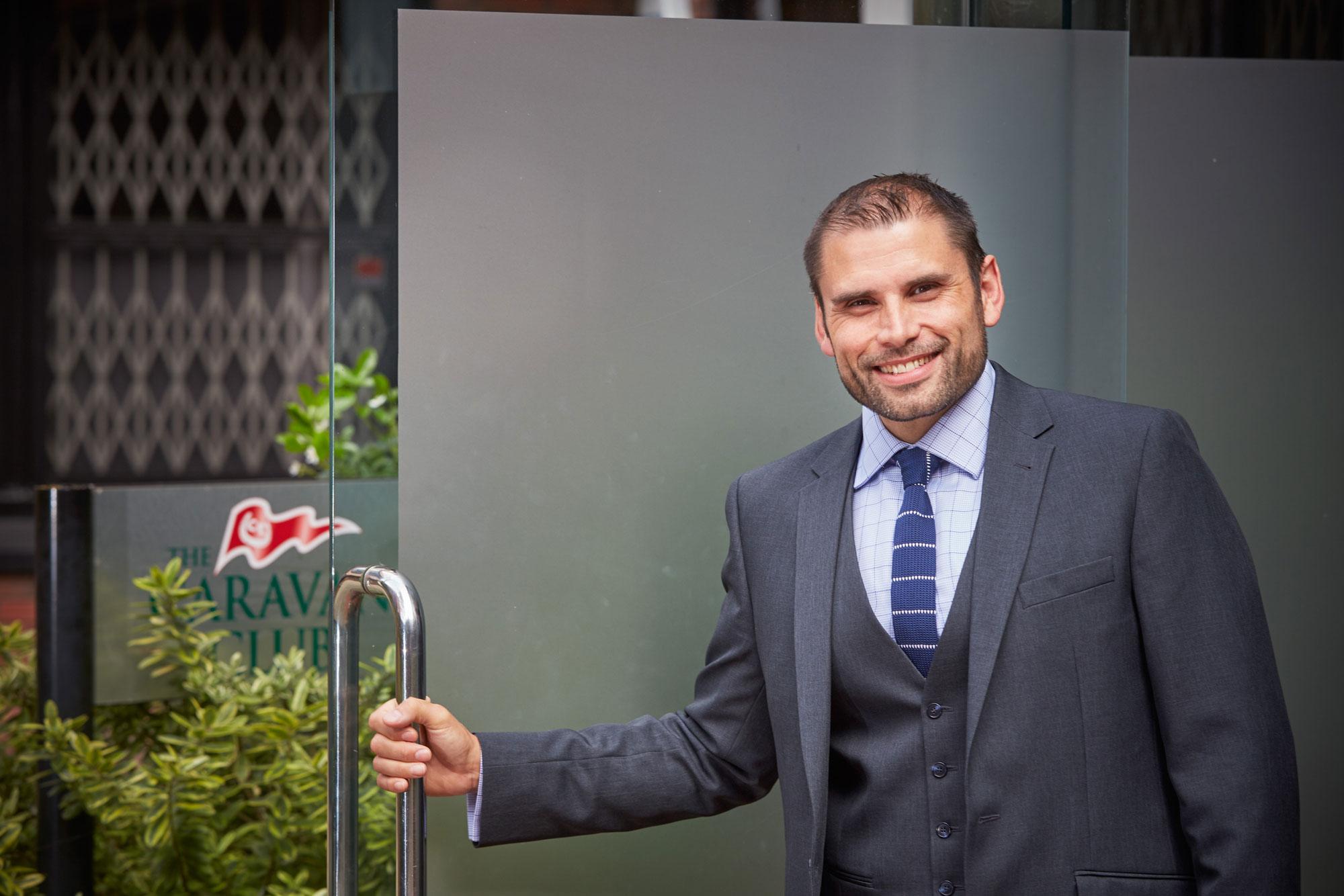 Harvey Alexander, Director Of Marketing At The Caravan Club