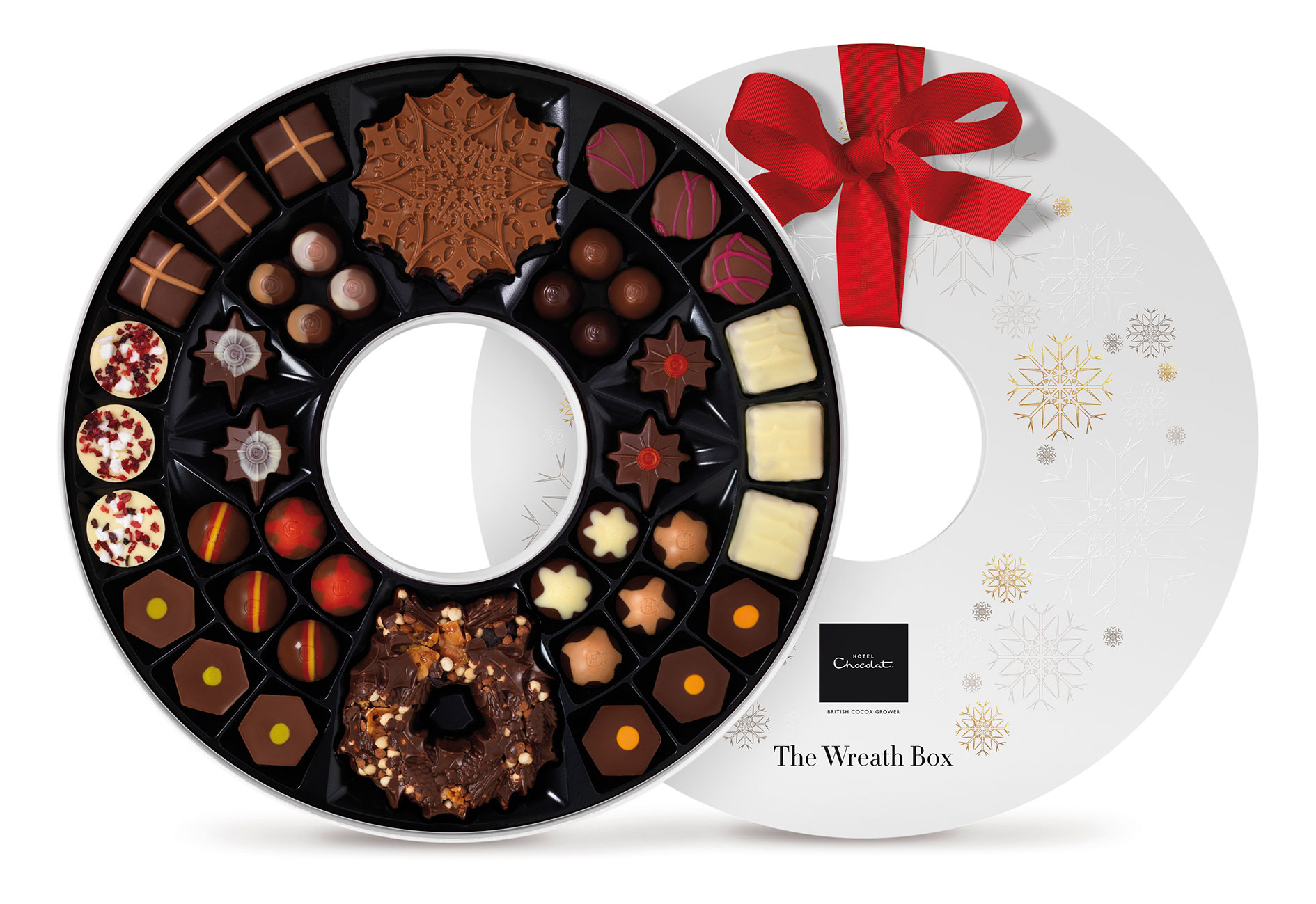 Hotel Chocolat Wreath Box