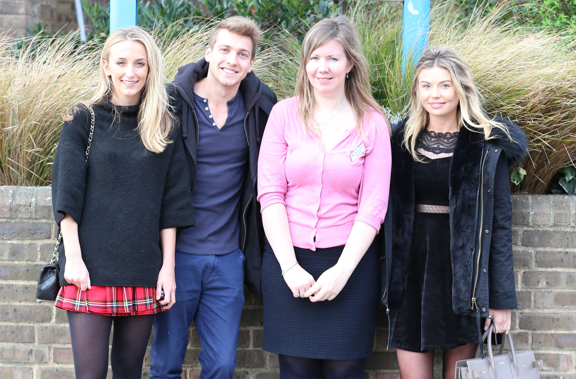 Made In Chelsea Stars Christmas Ward Visit at Royal Brompton Hospital 9