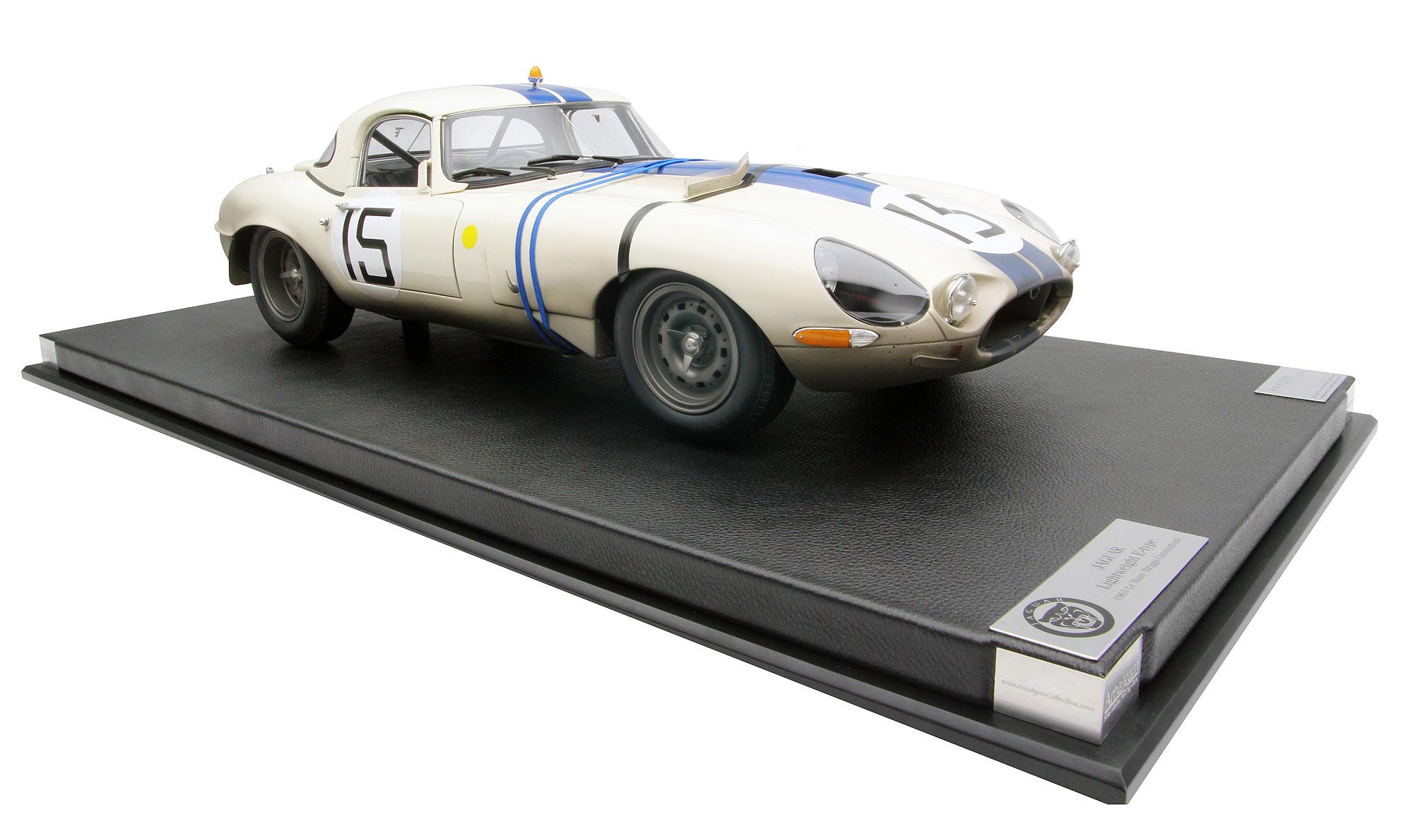 Jaguar E-Type 1963 Briggs Cunningham Le Mans racing car