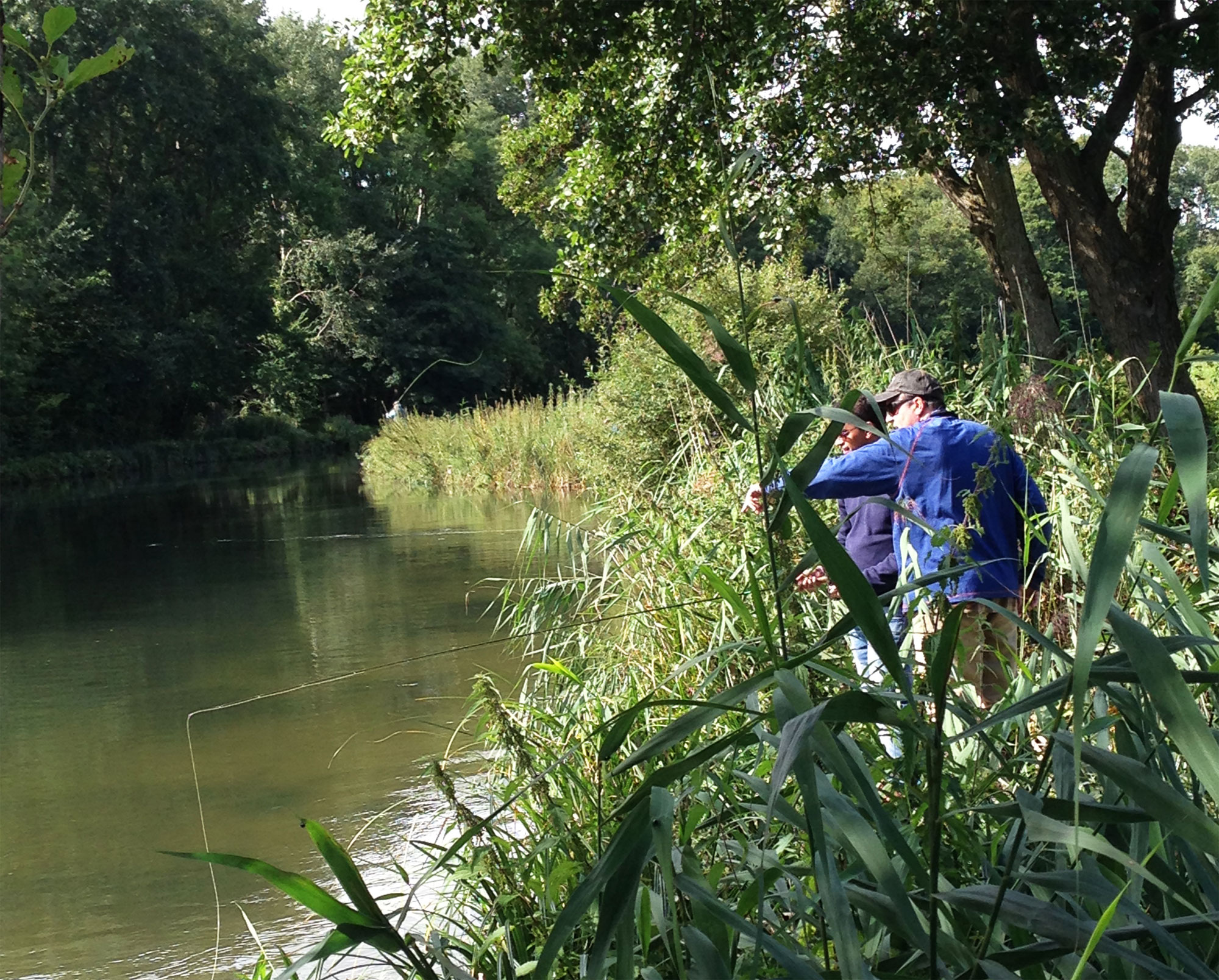 Jay Bajwa learning the art of fly fishing with Orvis