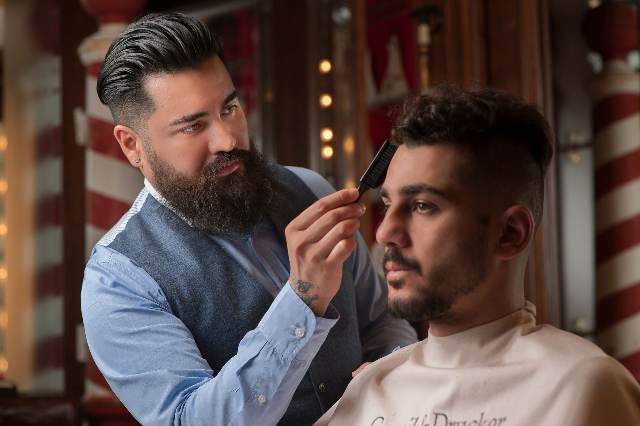 The Gornik & Drucker barbershop at the Montage Beverly Hills