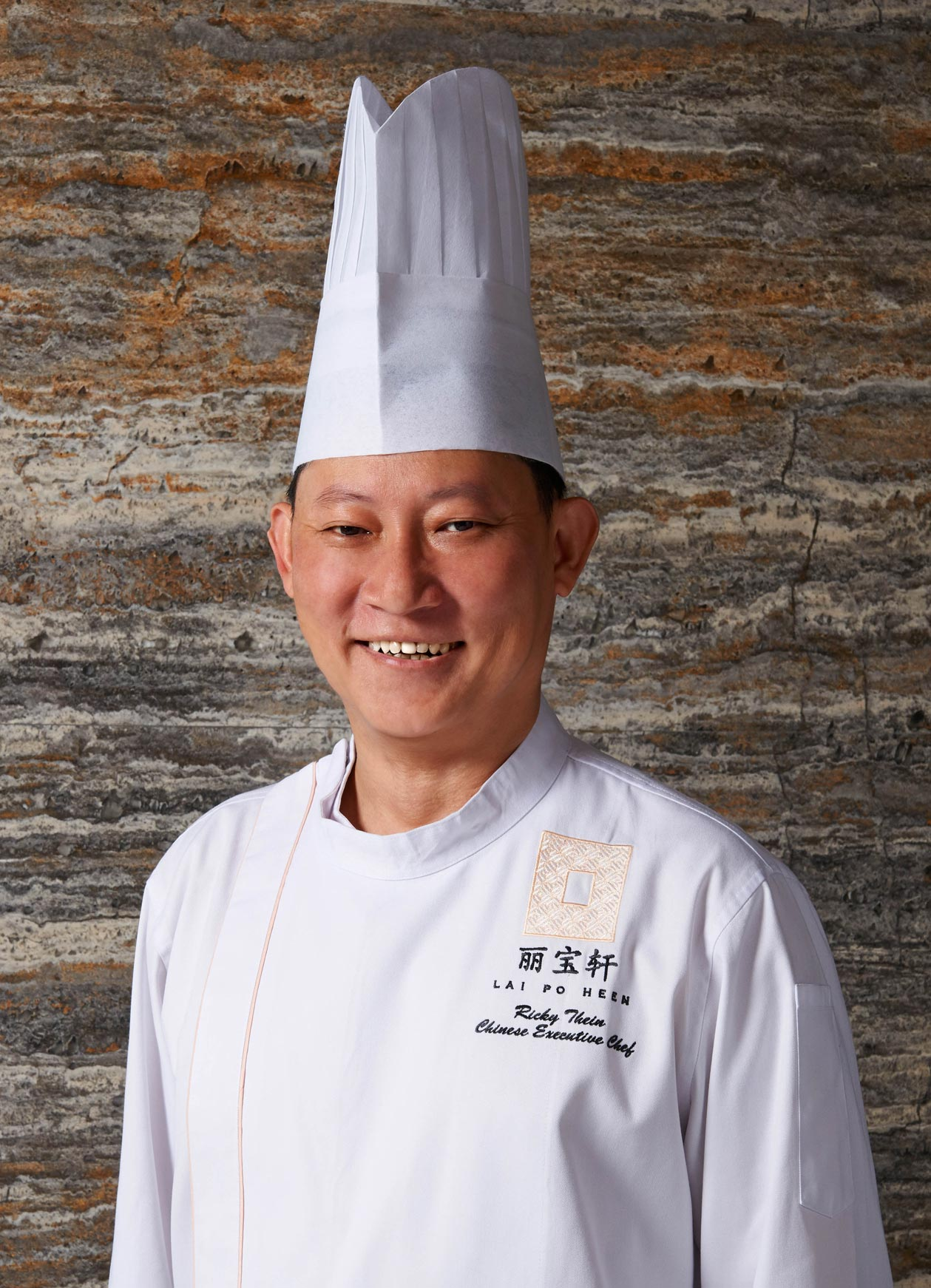 Lai Po Heen's executive chef Ricky Thein