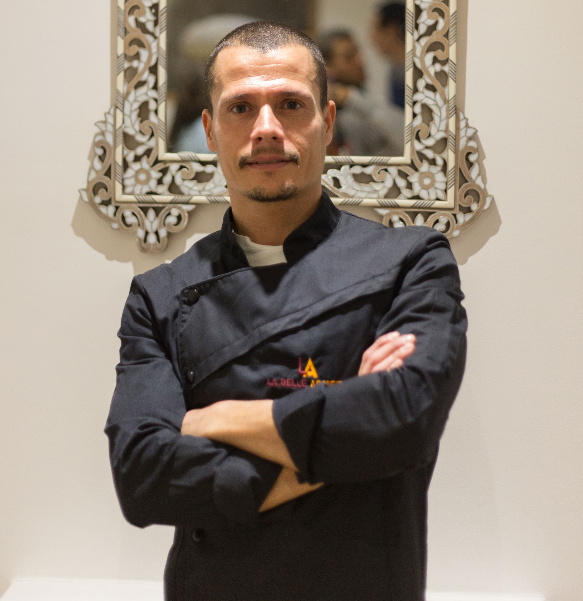 Italian chef Francesco Pais